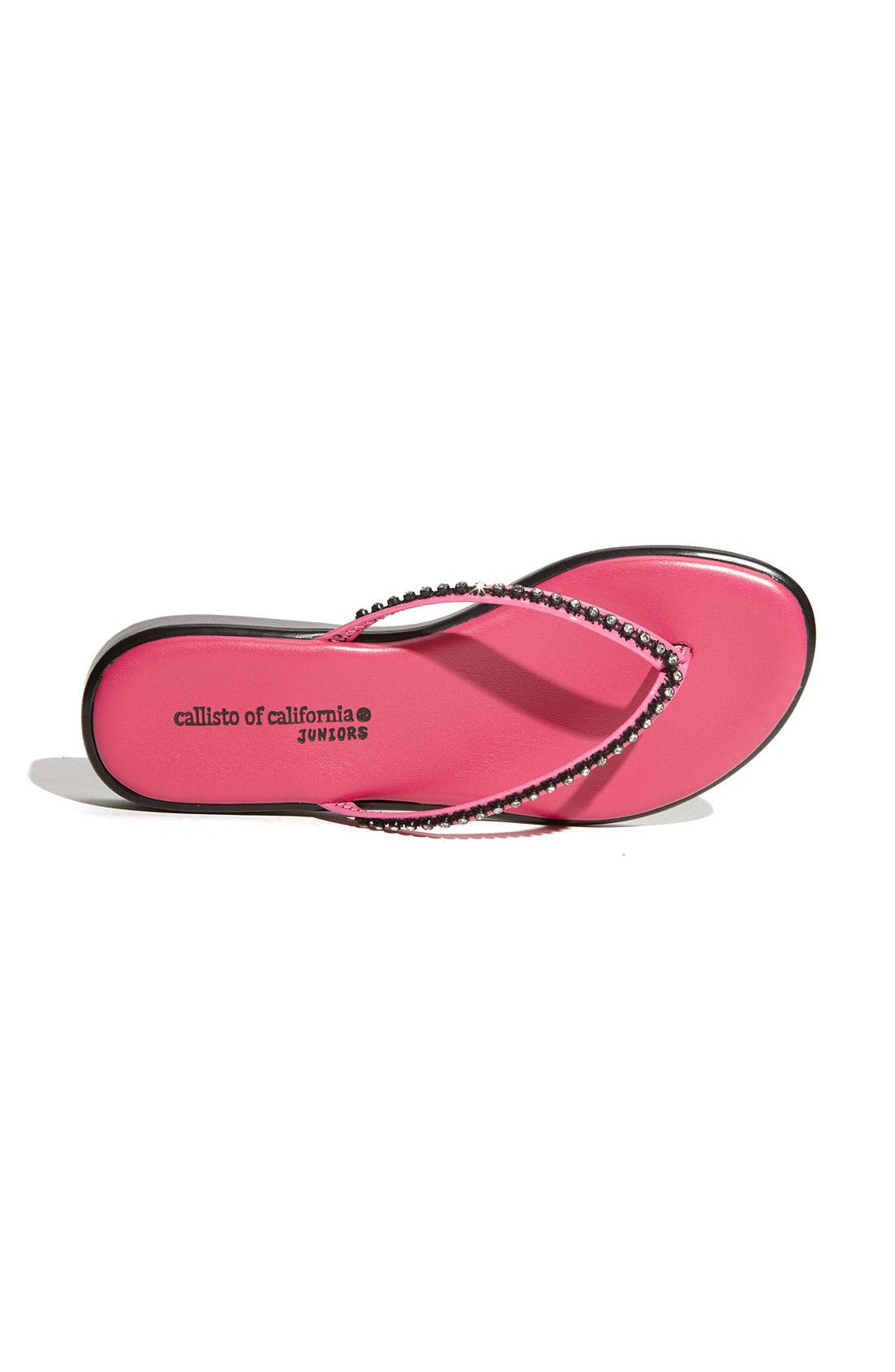 Alternate Image 3  - Callisto 'Girly' Flip Flop (Toddler, Little Kid & Big Kid)