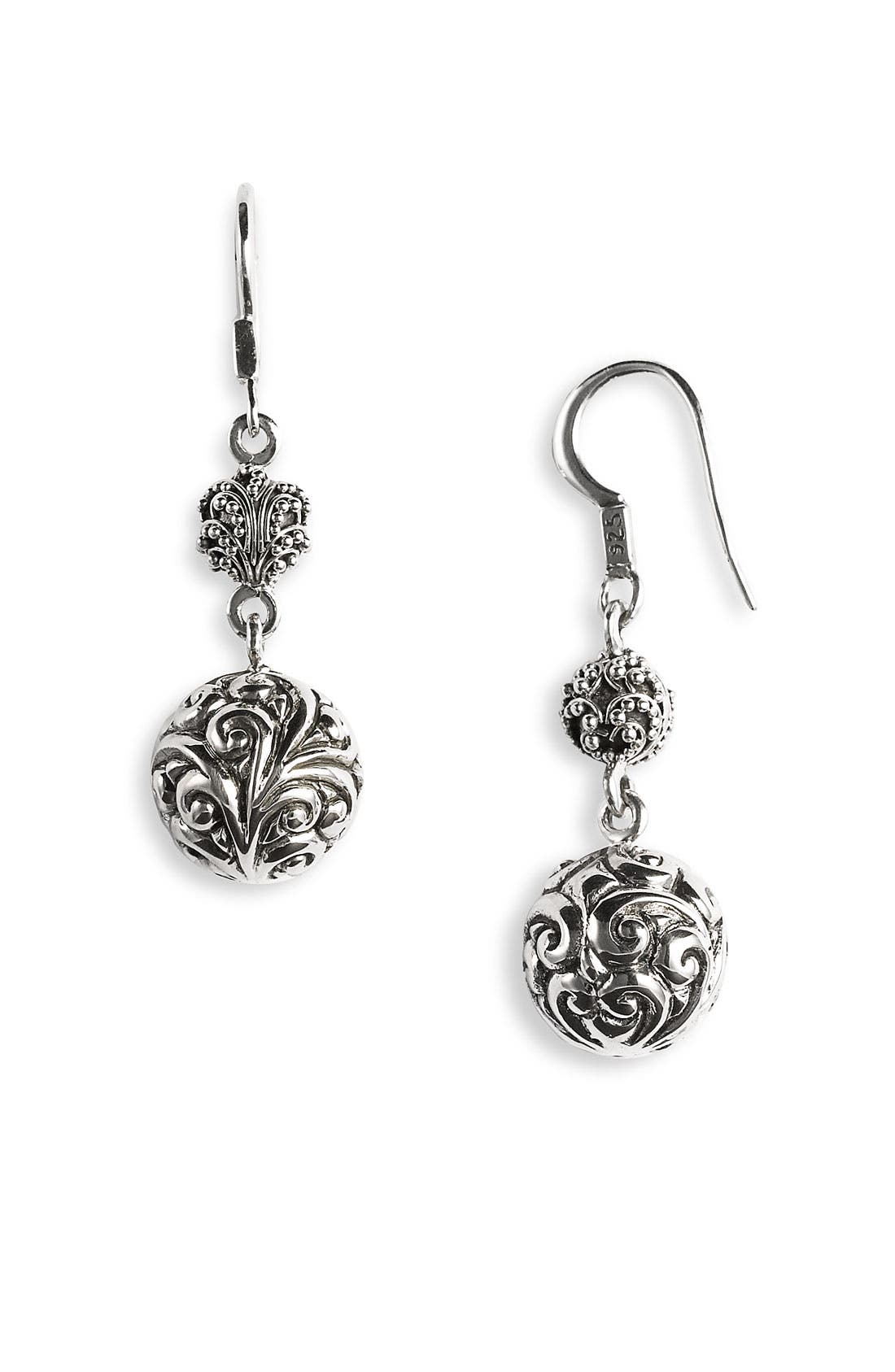 Alternate Image 1 Selected - Lois Hill 'Repousse' Ball Drop Earring