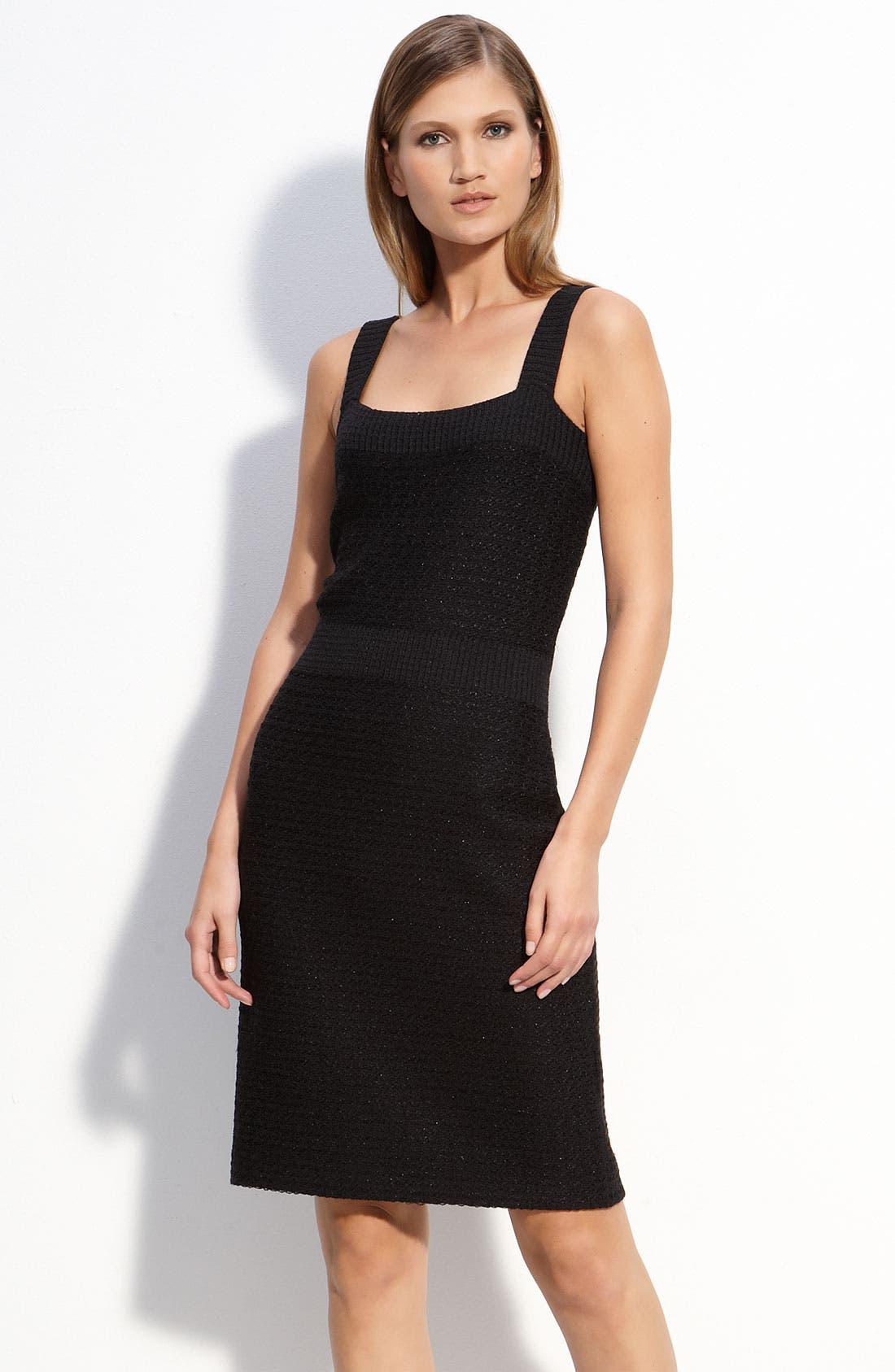 Alternate Image 1 Selected - St. John Collection Sparkle Knit Dress