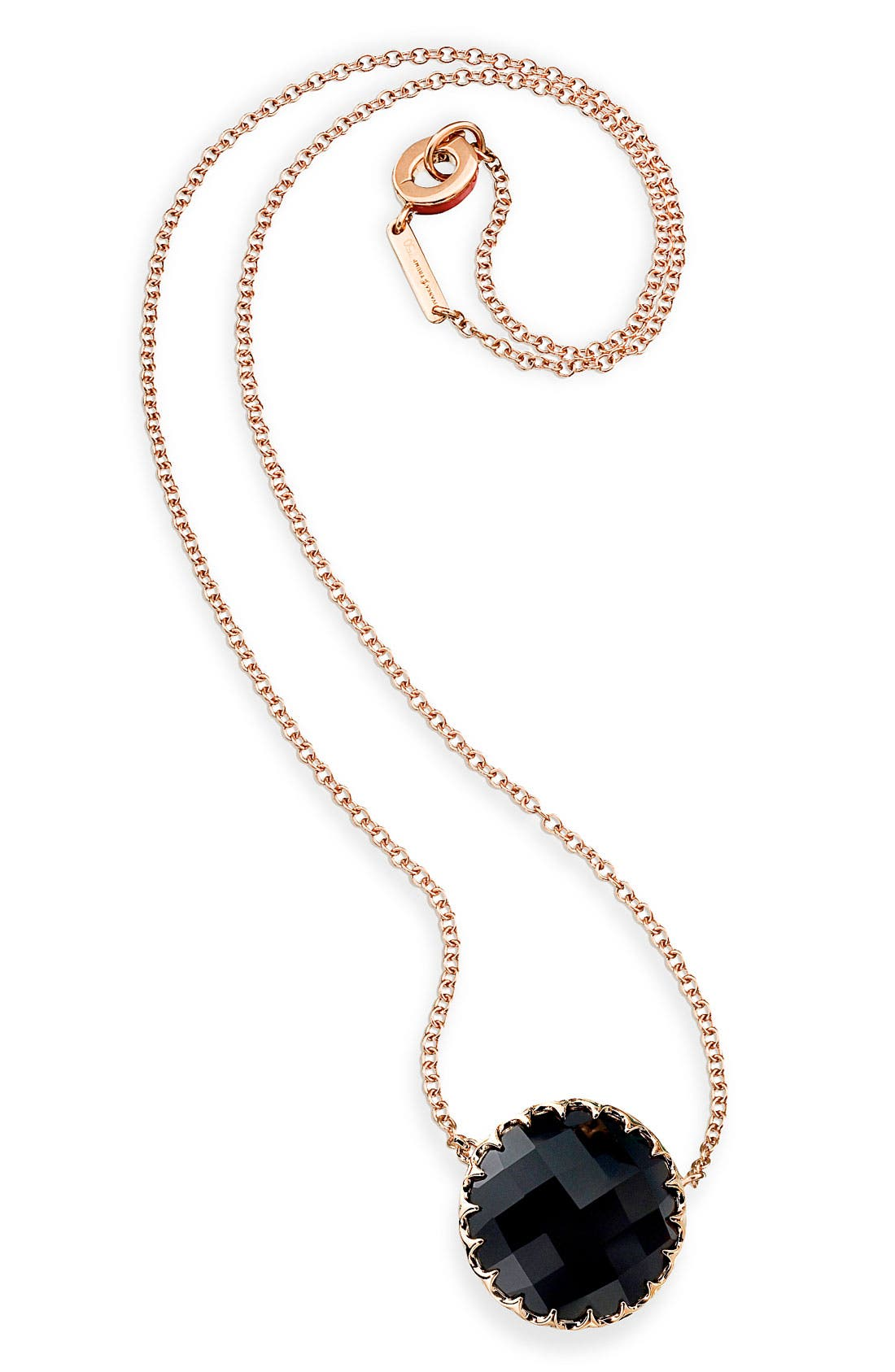 Main Image - Ivanka Trump Rose Gold & Center Stone Necklace