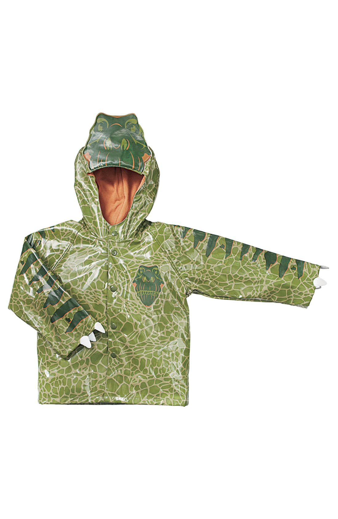 Alternate Image 3  - Western Chief 'Dino' Raincoat (Toddler & Little Boys)