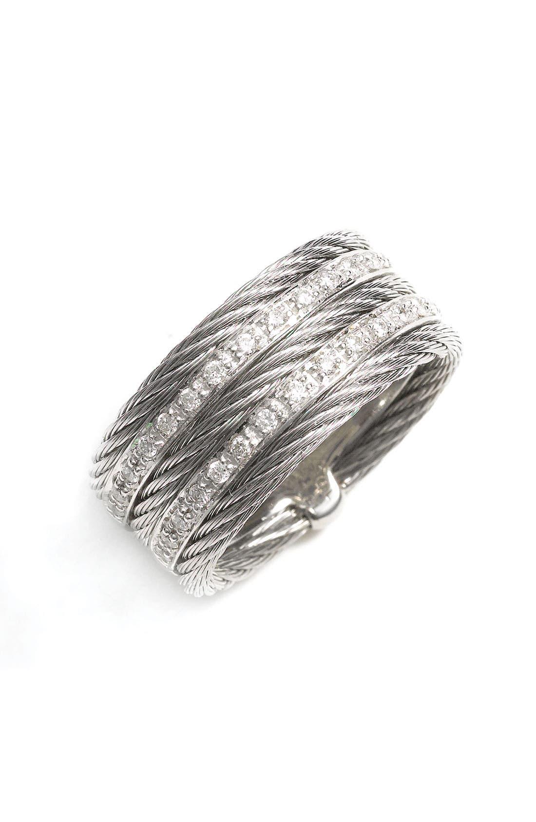 Alternate Image 1 Selected - ALOR® 5 Row Diamond Ring