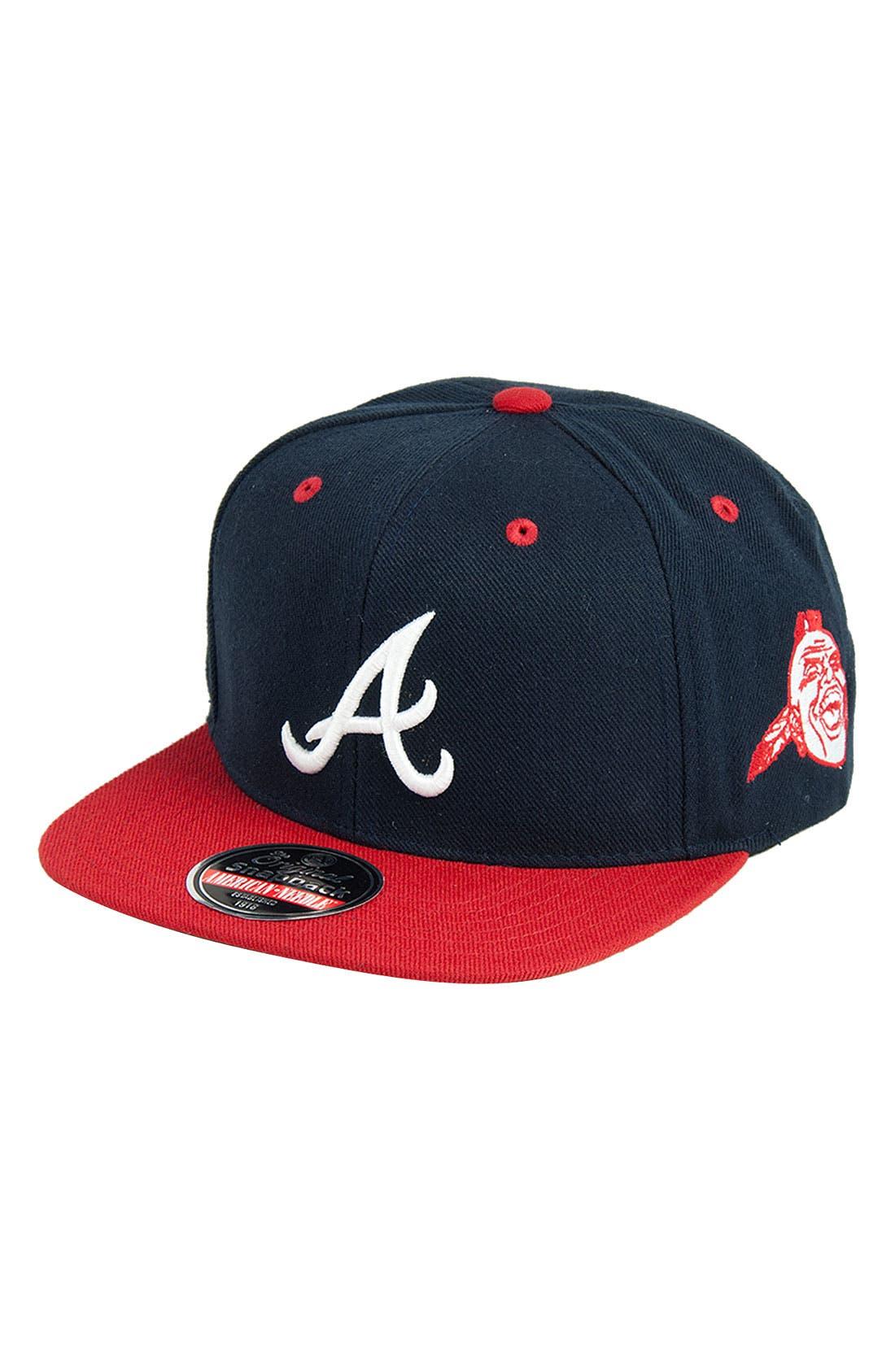 Main Image - American Needle 'Blockhead Braves' Snapback Baseball Cap