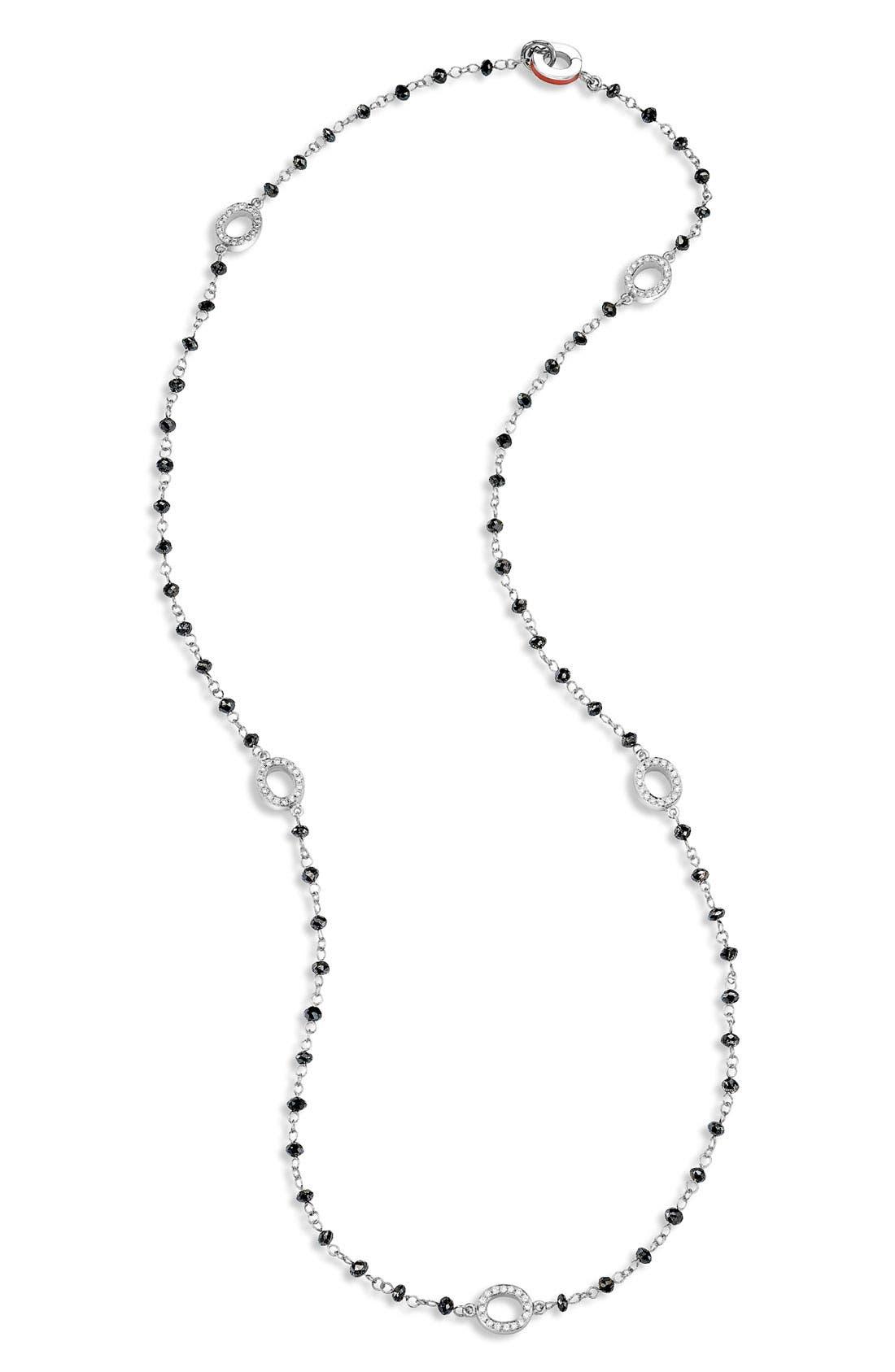 Main Image - Ivanka Trump Black Diamond Briolette Necklace