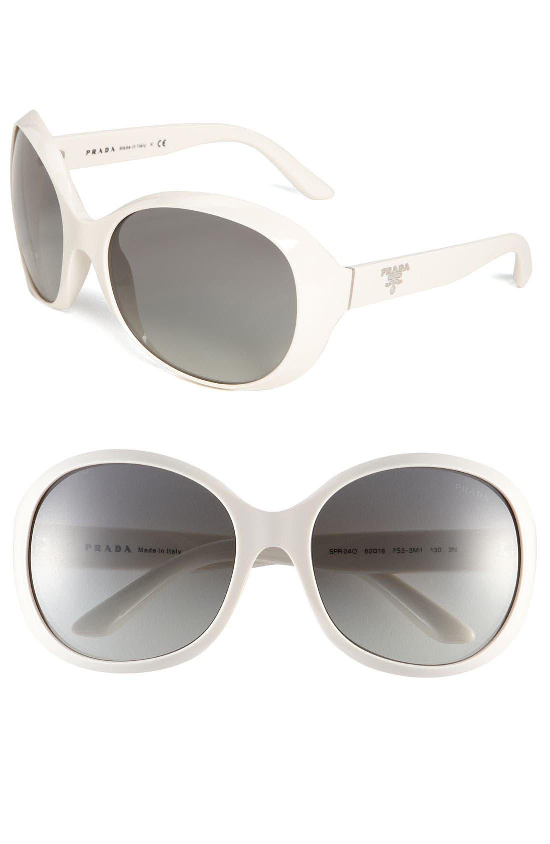 Main Image - Prada 60mm Retro Sunglasses