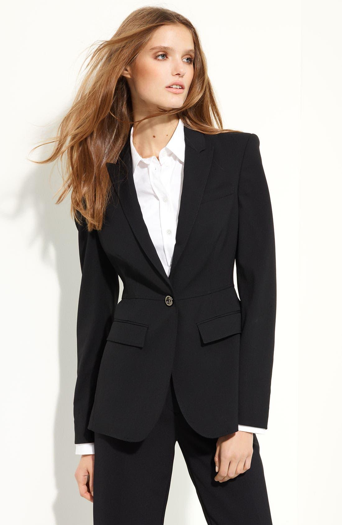 Alternate Image 1 Selected - Burberry London Tie Back Jacket