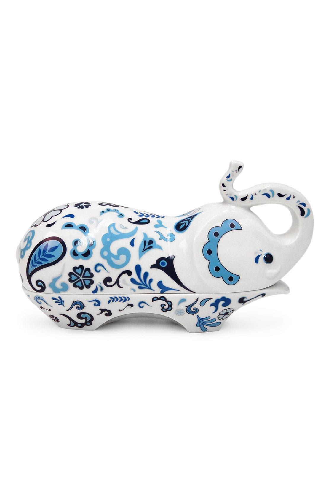 Main Image - Jonathan Adler 'Elephant' Porcelain Butter Dish