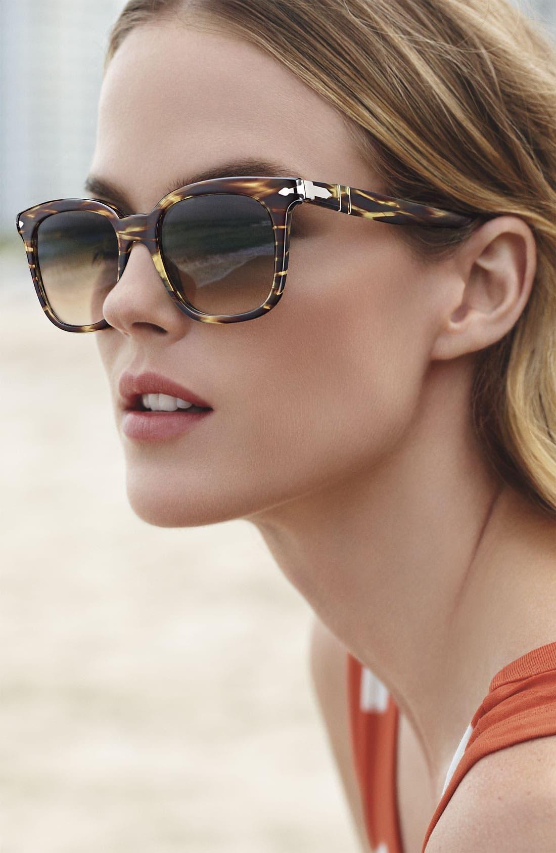 Alternate Image 2  - Persol 50mm Square Vintage Sunglasses