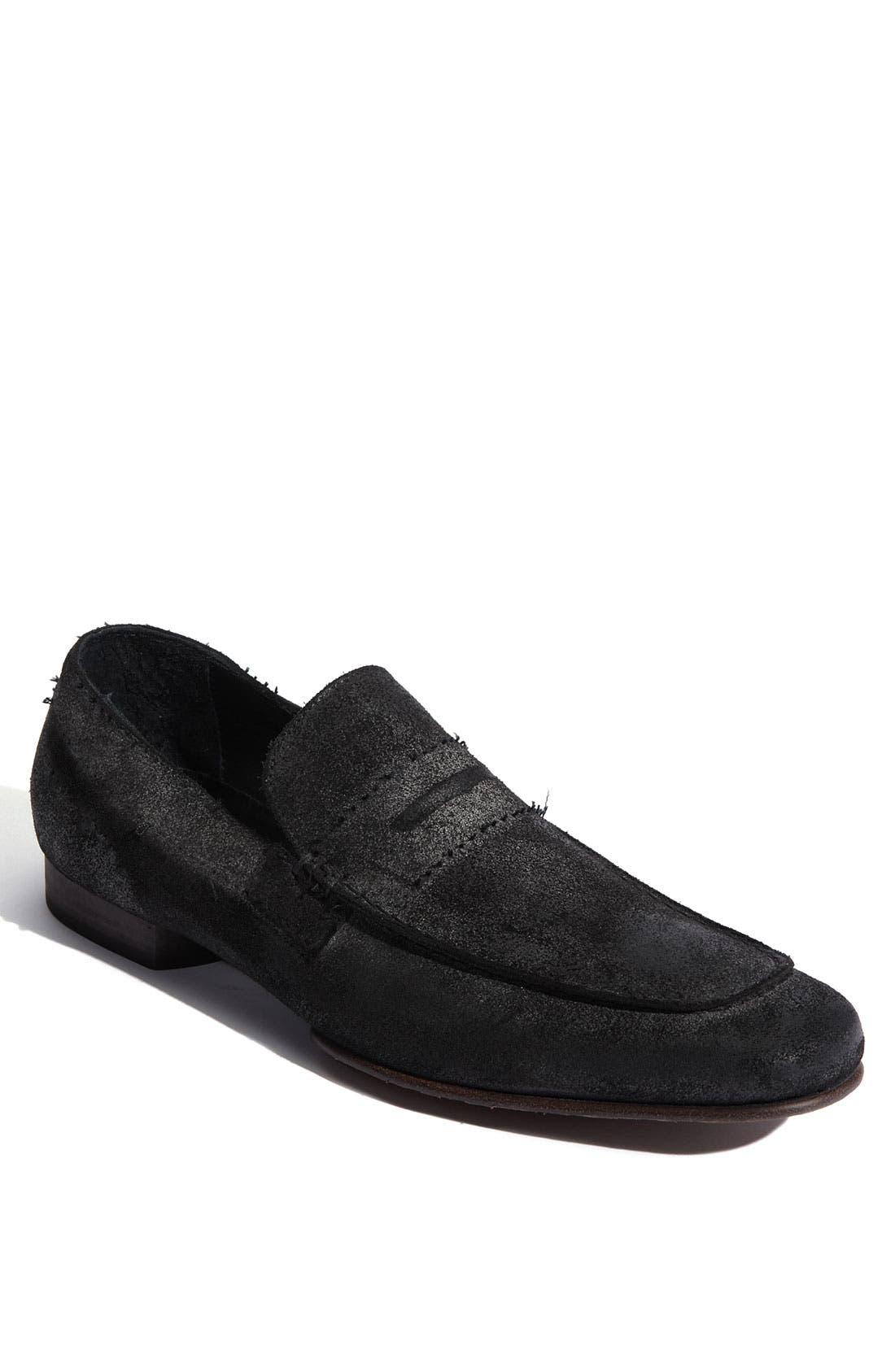 Alternate Image 1 Selected - Donald J Pliner 'Virge' Leather Loafer