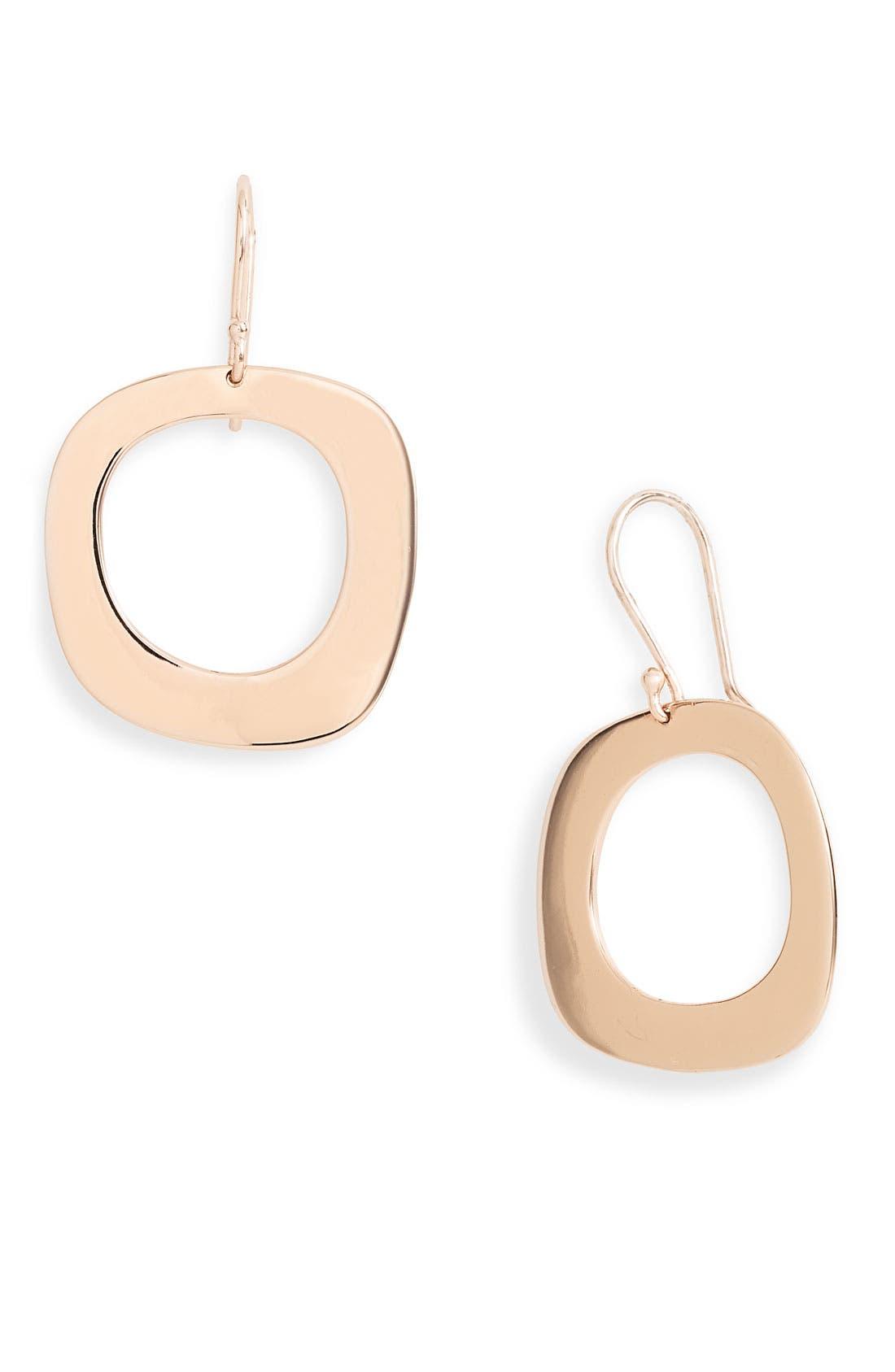 Alternate Image 1 Selected - Ippolita 'Lite Links' Rosé Square Drop Earrings