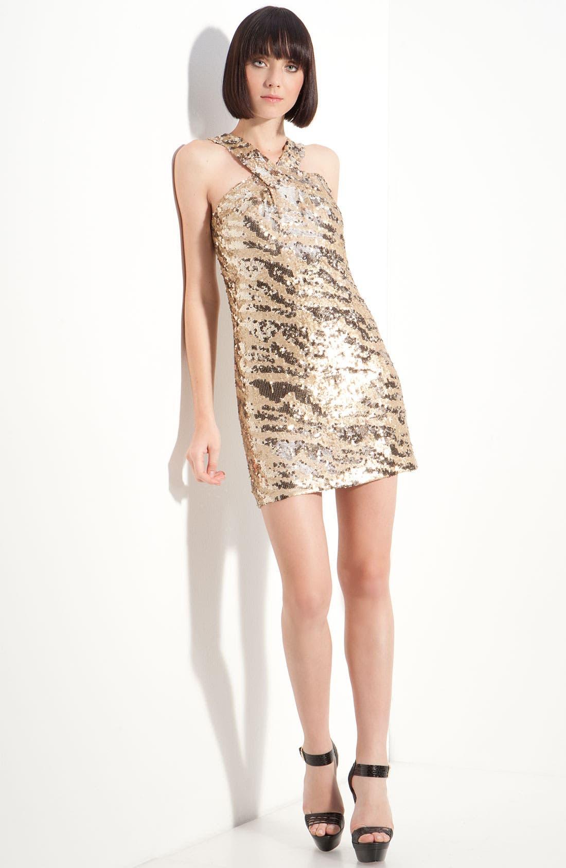Alternate Image 1 Selected - Rachel Zoe 'Brenda' Sequin Shift Dress