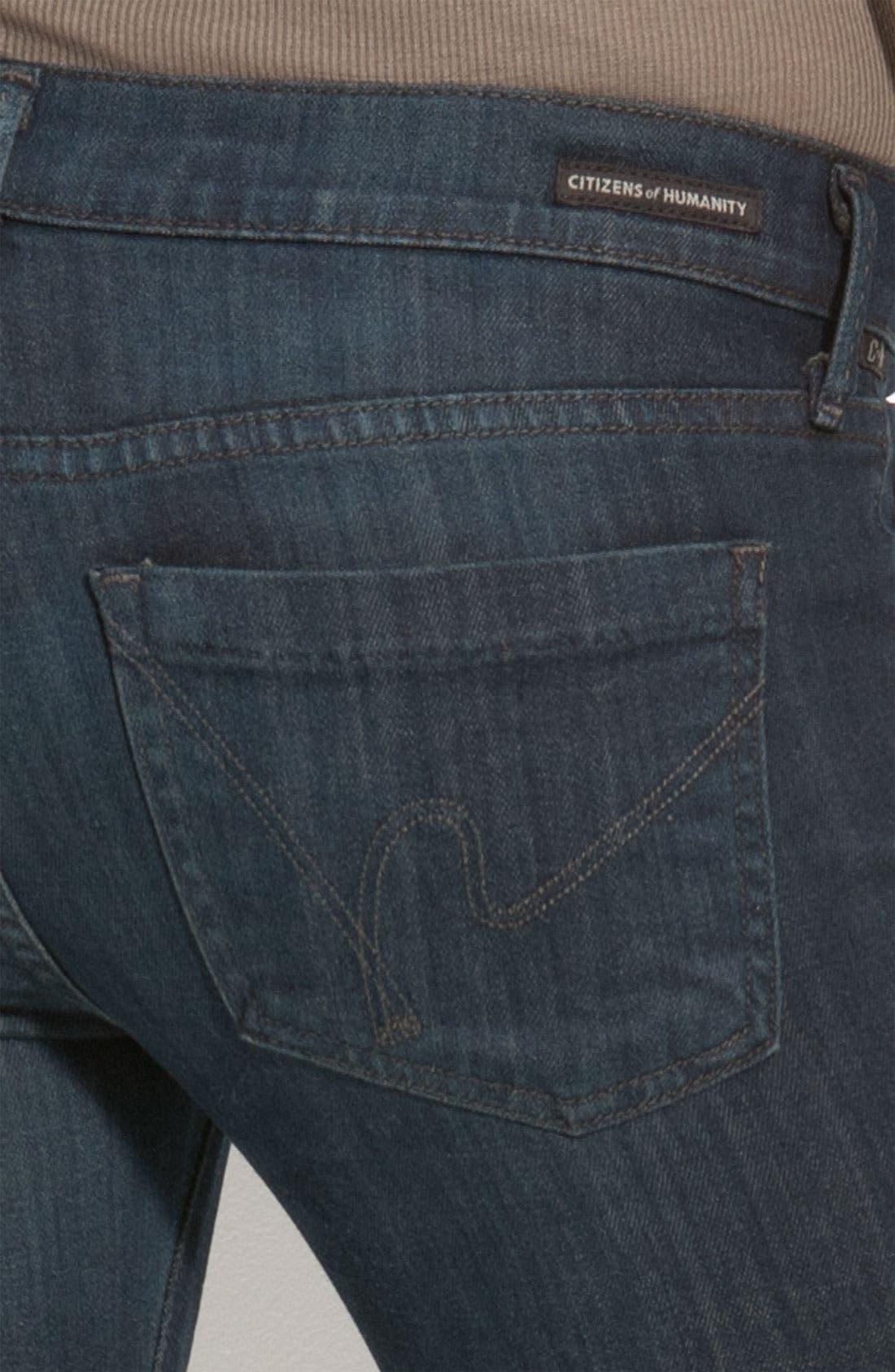 Alternate Image 3  - Citizens of Humanity 'Dita' Bootcut Jeans (Jupiter Wash) (Petite)