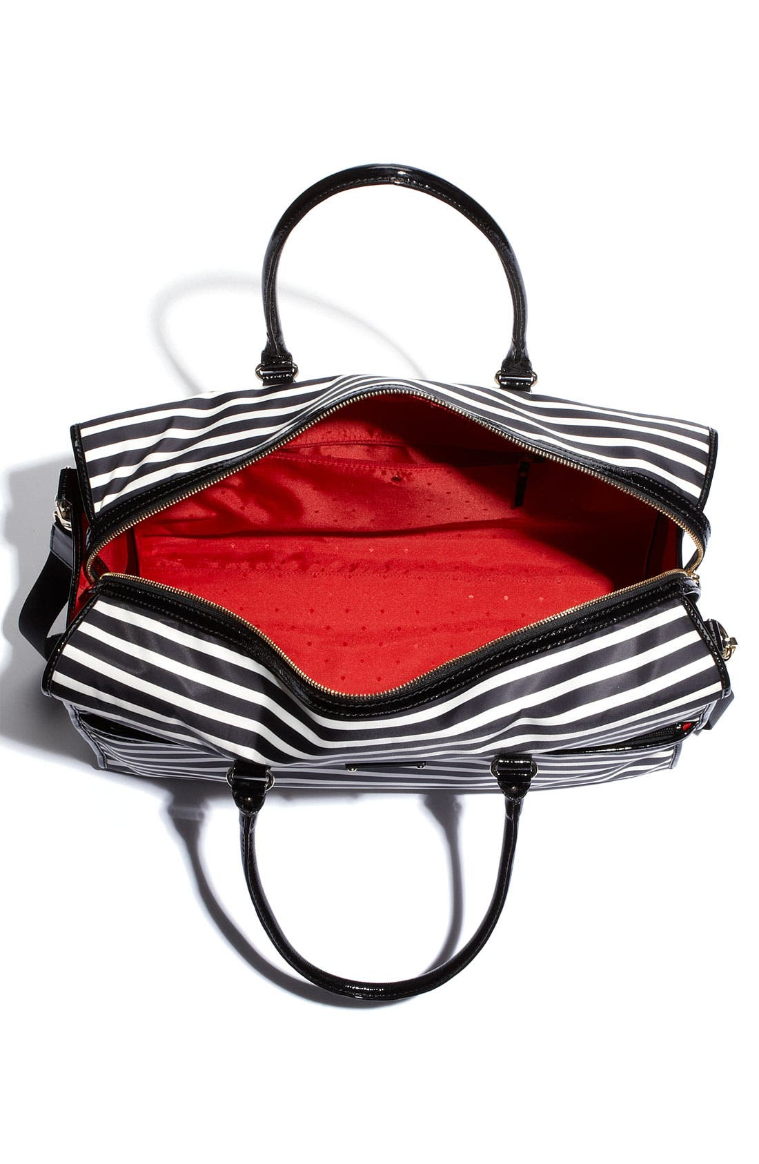 Alternate Image 3  - kate spade new york 'adara' stripe nylon tote