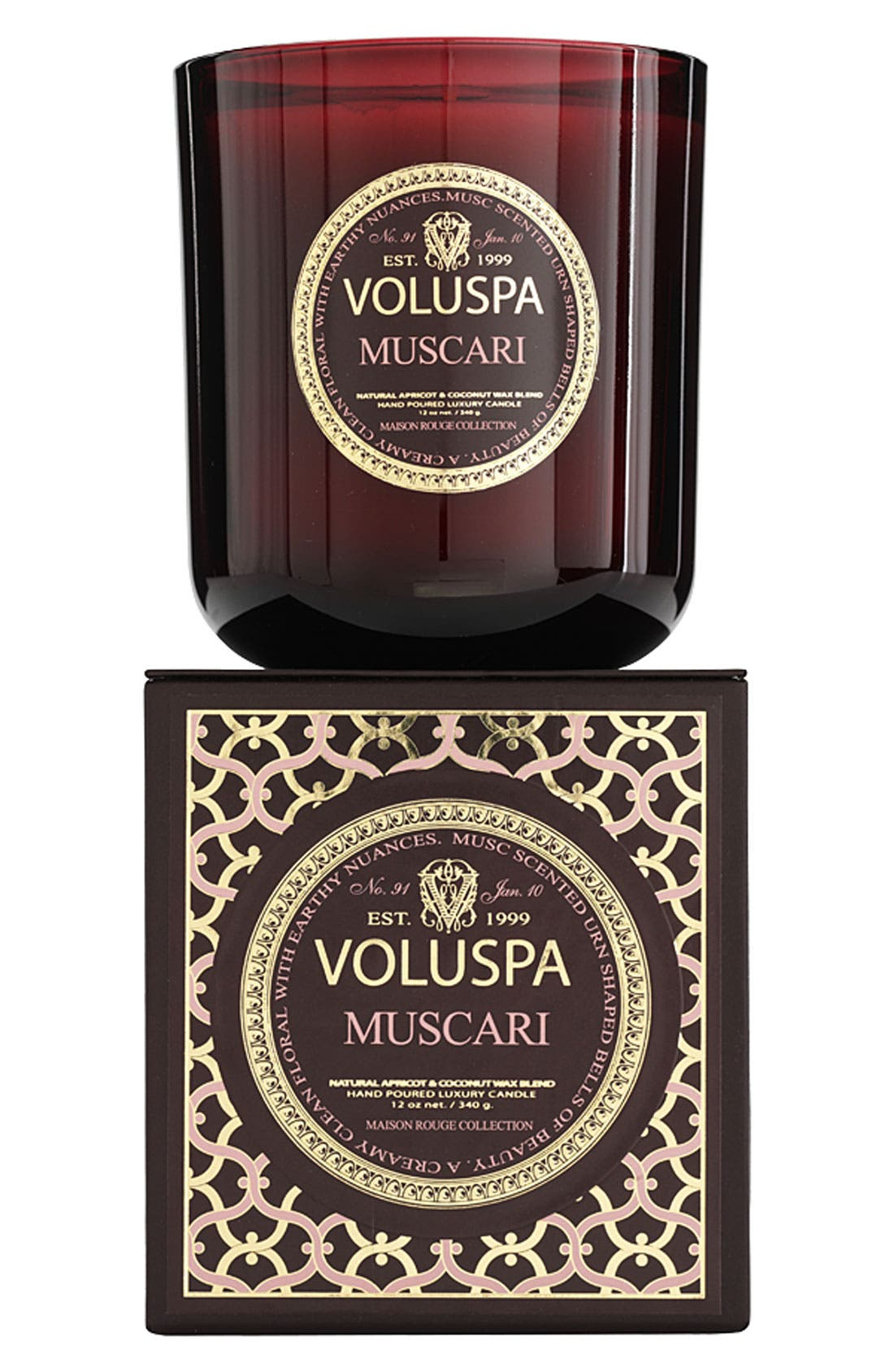 Main Image - Voluspa 'Maison Rouge - Muscari' Scented Candle