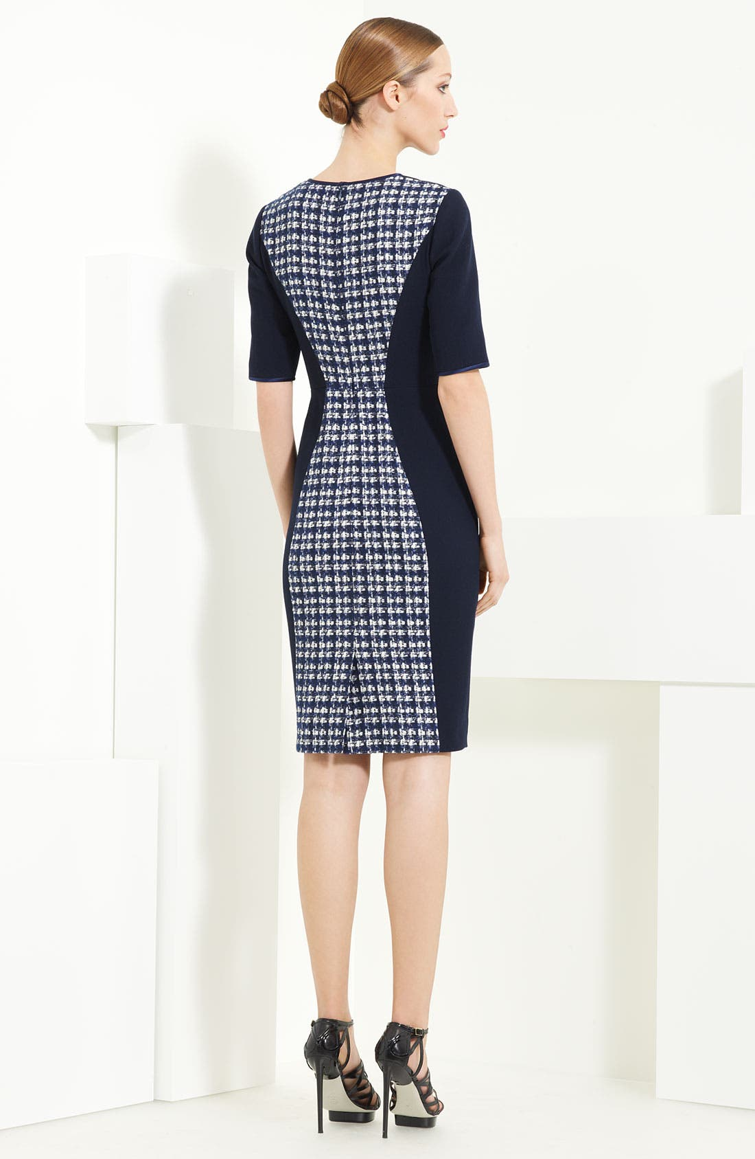 Alternate Image 2  - Jason Wu Tweed & Twill Dress