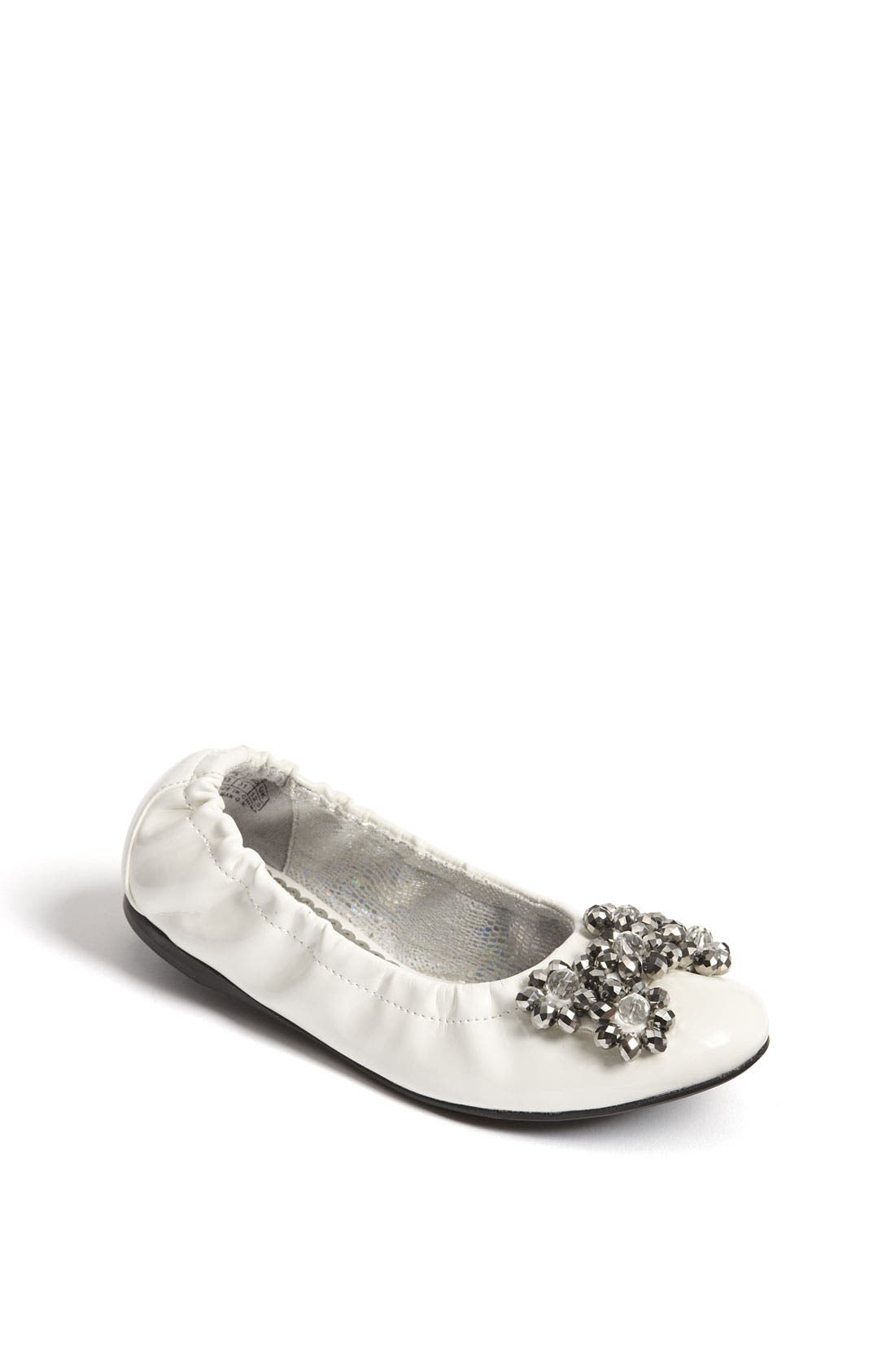 Alternate Image 1 Selected - Stuart Weitzman 'Dazzle' Flat (Toddler, Little Kid & Big Kid)