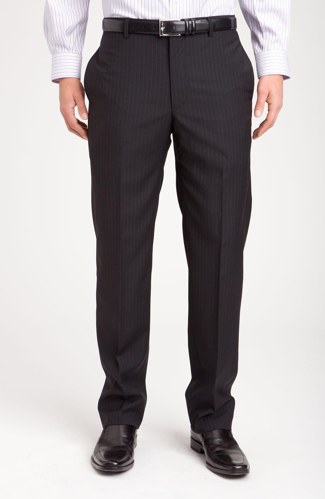 Alternate Image 4  - Joseph Abboud Two Button Stripe Suit