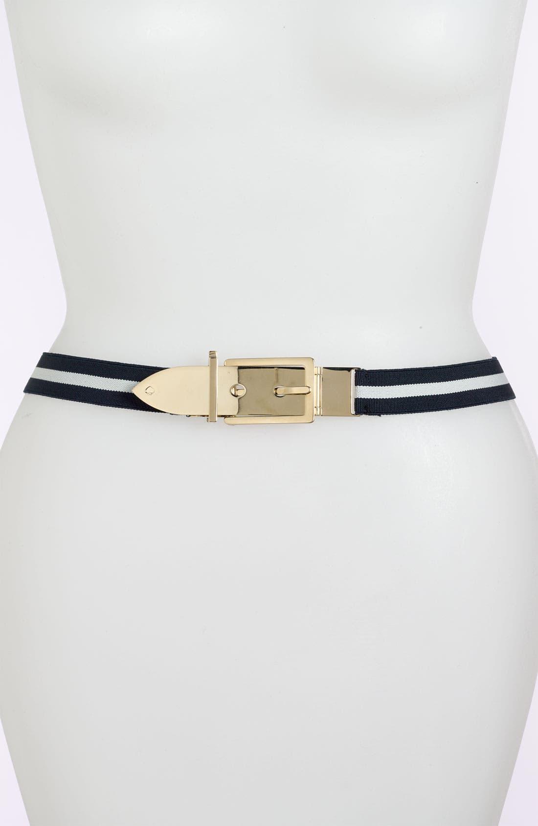 Alternate Image 1 Selected - kate spade new york metal buckle belt