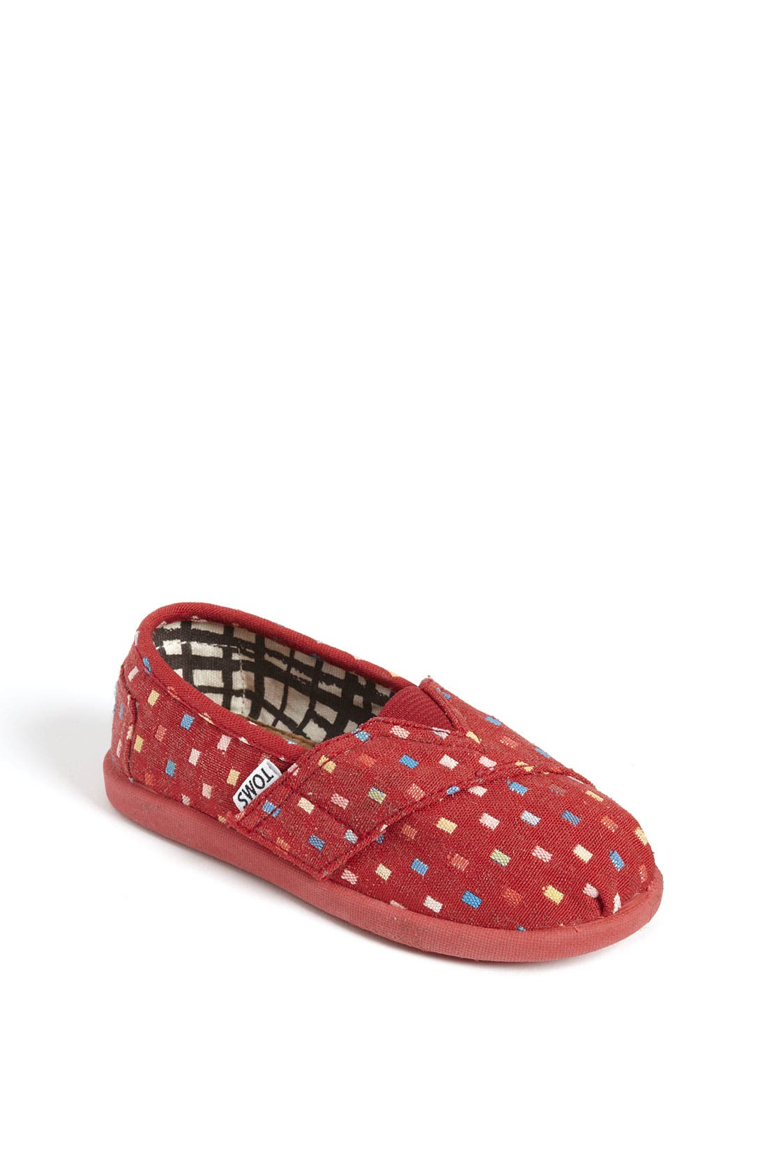 Alternate Image 1 Selected - TOMS 'Classic Tiny - Dimas' Slip-On (Baby, Walker & Toddler)