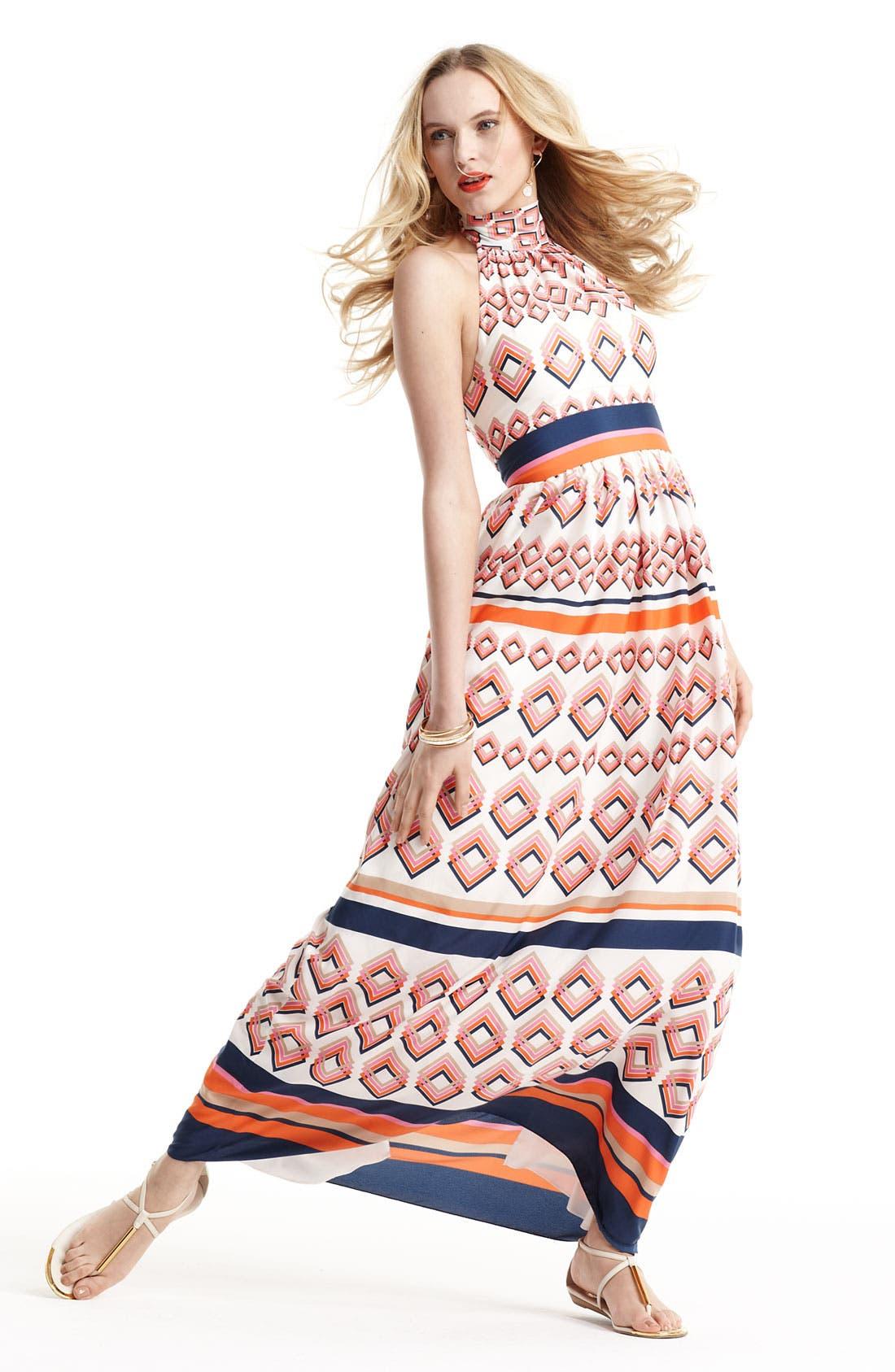 Alternate Image 5  - Eliza J Tie Neck Maxi Dress