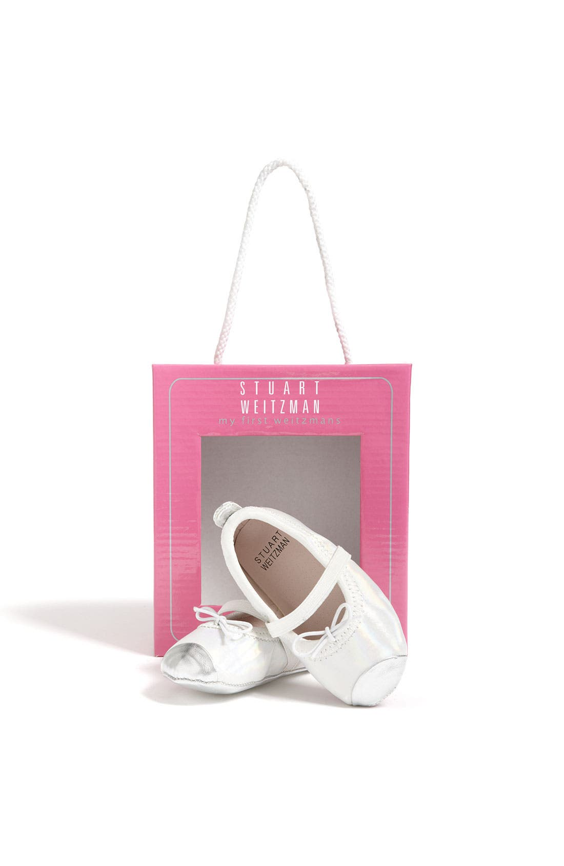 Alternate Image 4  - Stuart Weitzman 'Baby Chippy' Crib Shoe (Baby)