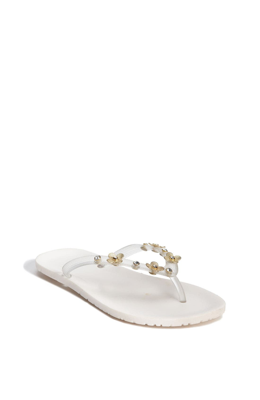 Alternate Image 1 Selected - Stuart Weitzman 'Meadow' Sandal (Toddler, Little Kid & Big Kid)