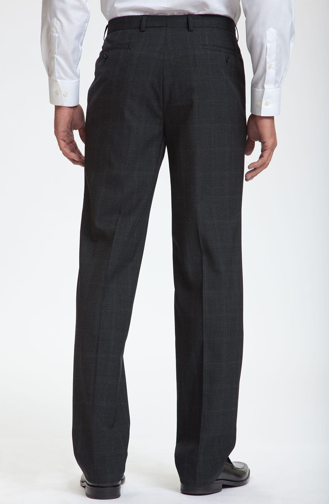 Alternate Image 2  - Calibrate Flat Front Wool Pants