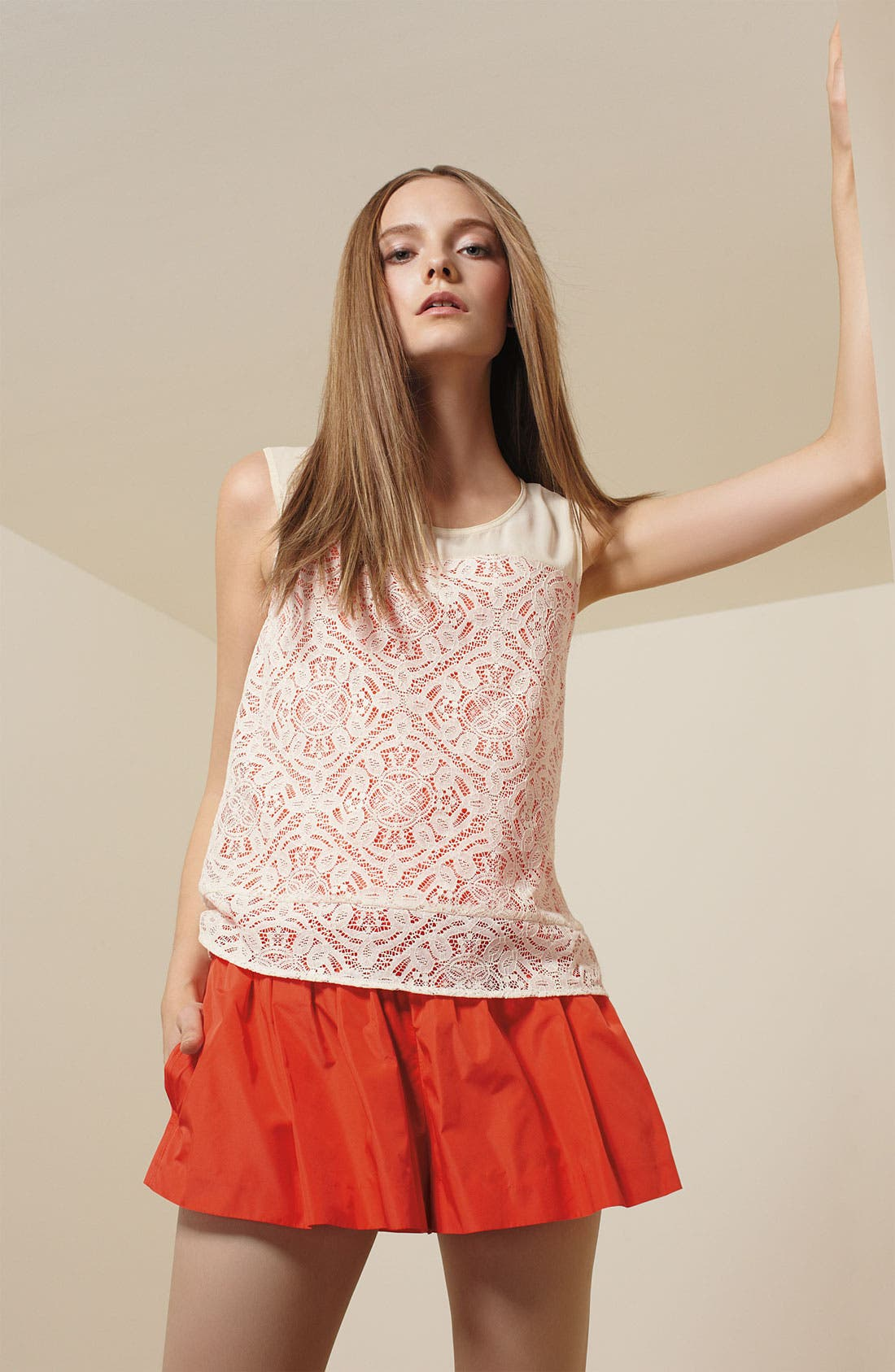 Alternate Image 4  - MARC BY MARC JACOBS 'Muriel' Layered Lace Tank