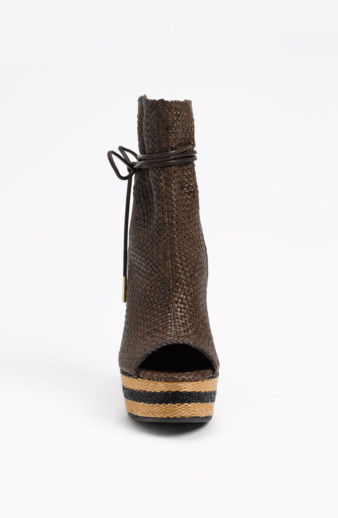 Alternate Image 3  - Burberry Peep Toe Boot