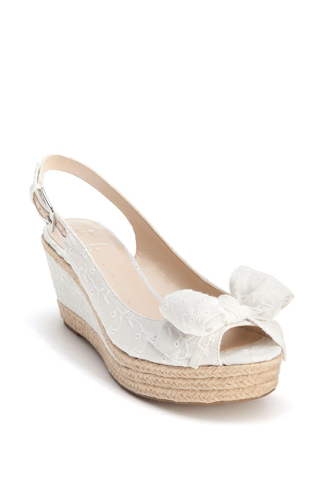 Alternate Image 1 Selected - Franco Sarto 'Olympia' Espadrille Sandal