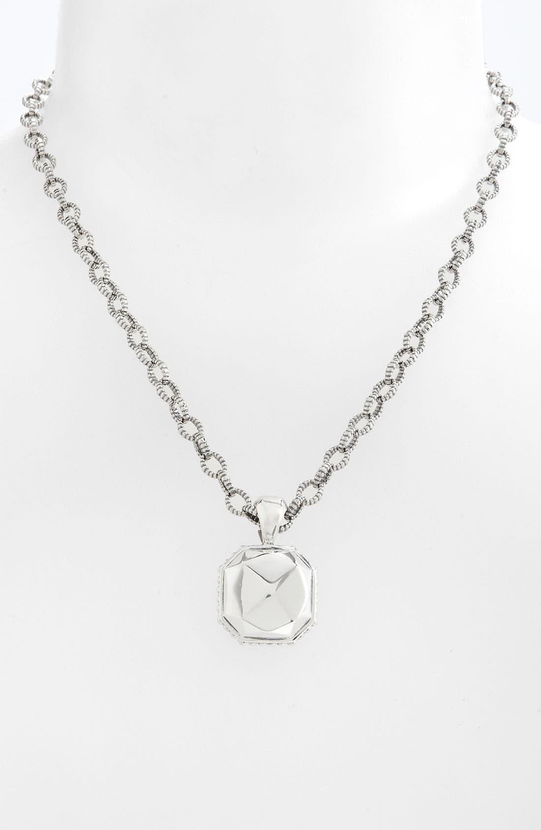 Alternate Image 1 Selected - LAGOS 'Rocks' Square Pendant Necklace