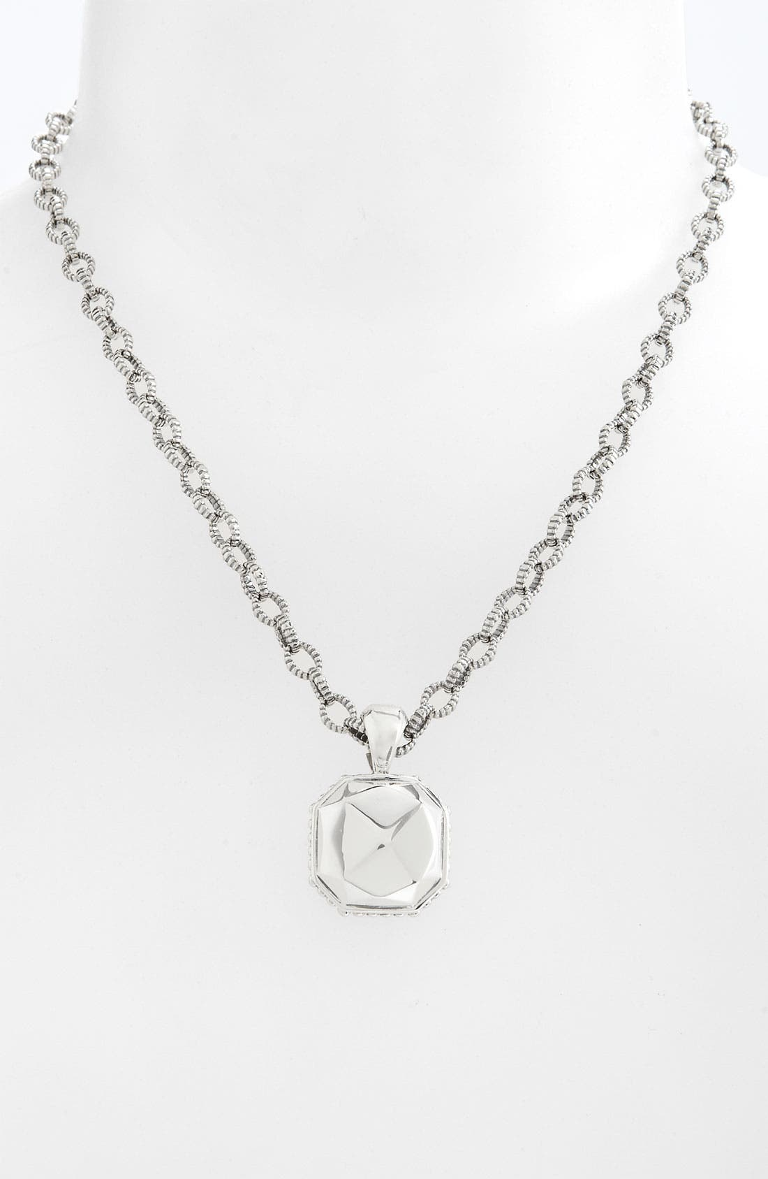 Main Image - LAGOS 'Rocks' Square Pendant Necklace
