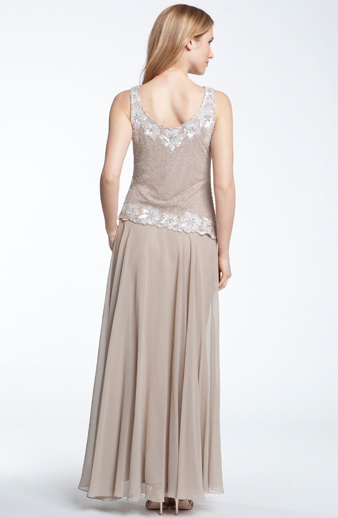 Alternate Image 3  - J Kara Beaded Dress & Bolero