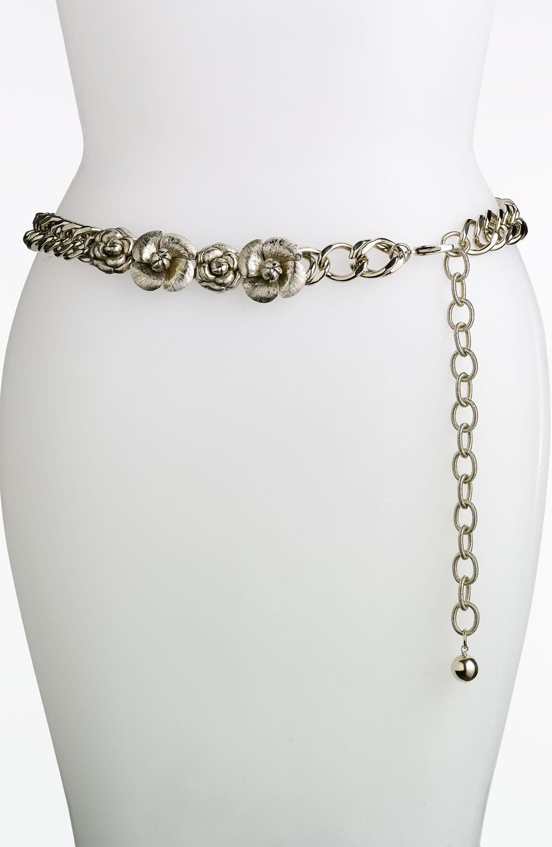 Main Image - St. John Collection Camellia Chain Belt
