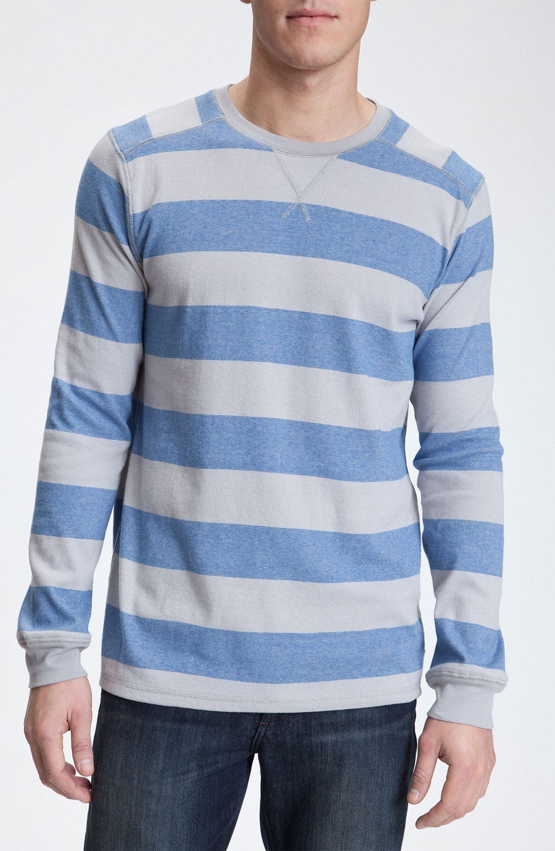 Alternate Image 1 Selected - Quiksilver Long Sleeve Crewneck Shirt