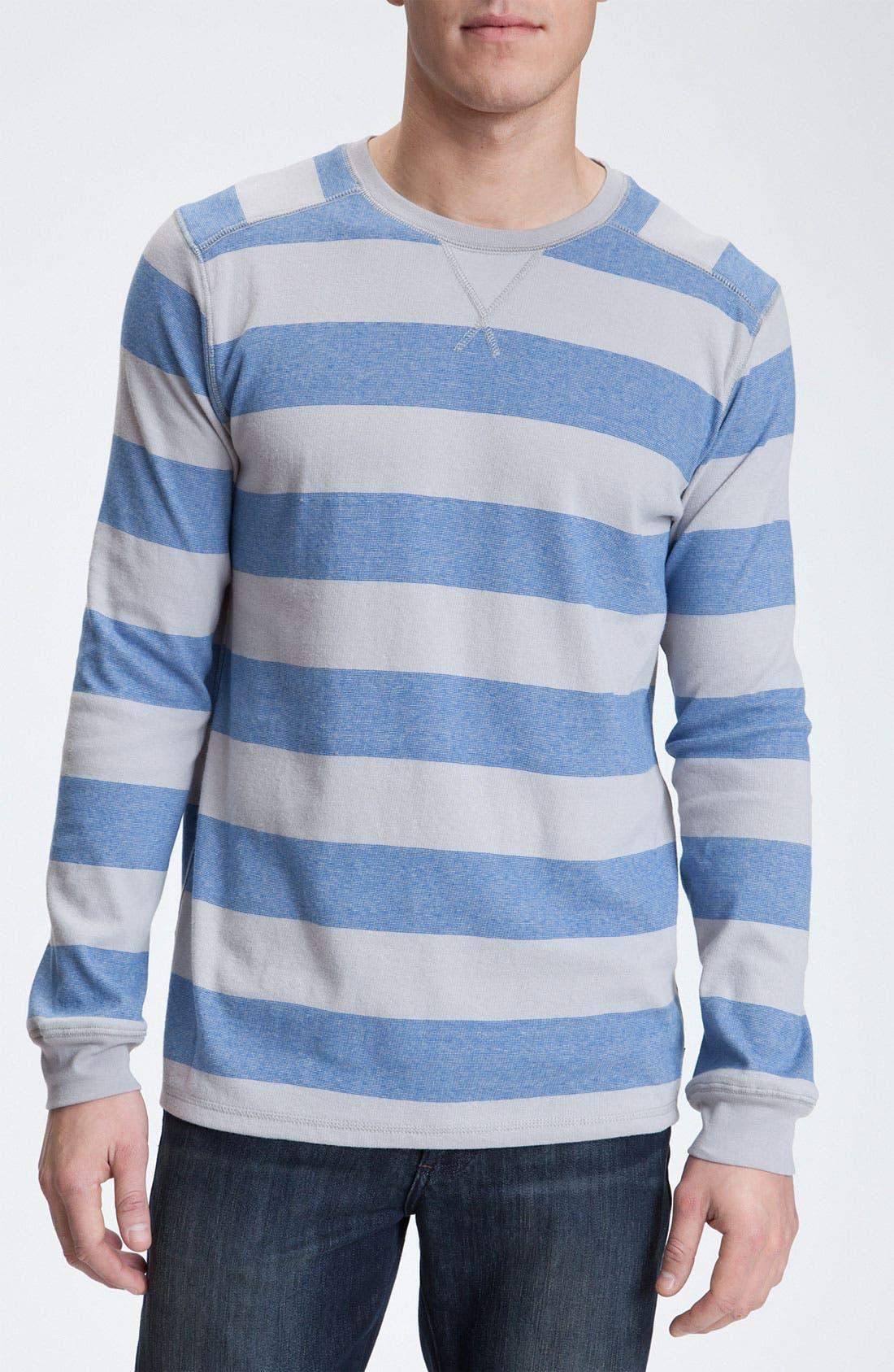 Main Image - Quiksilver Long Sleeve Crewneck Shirt