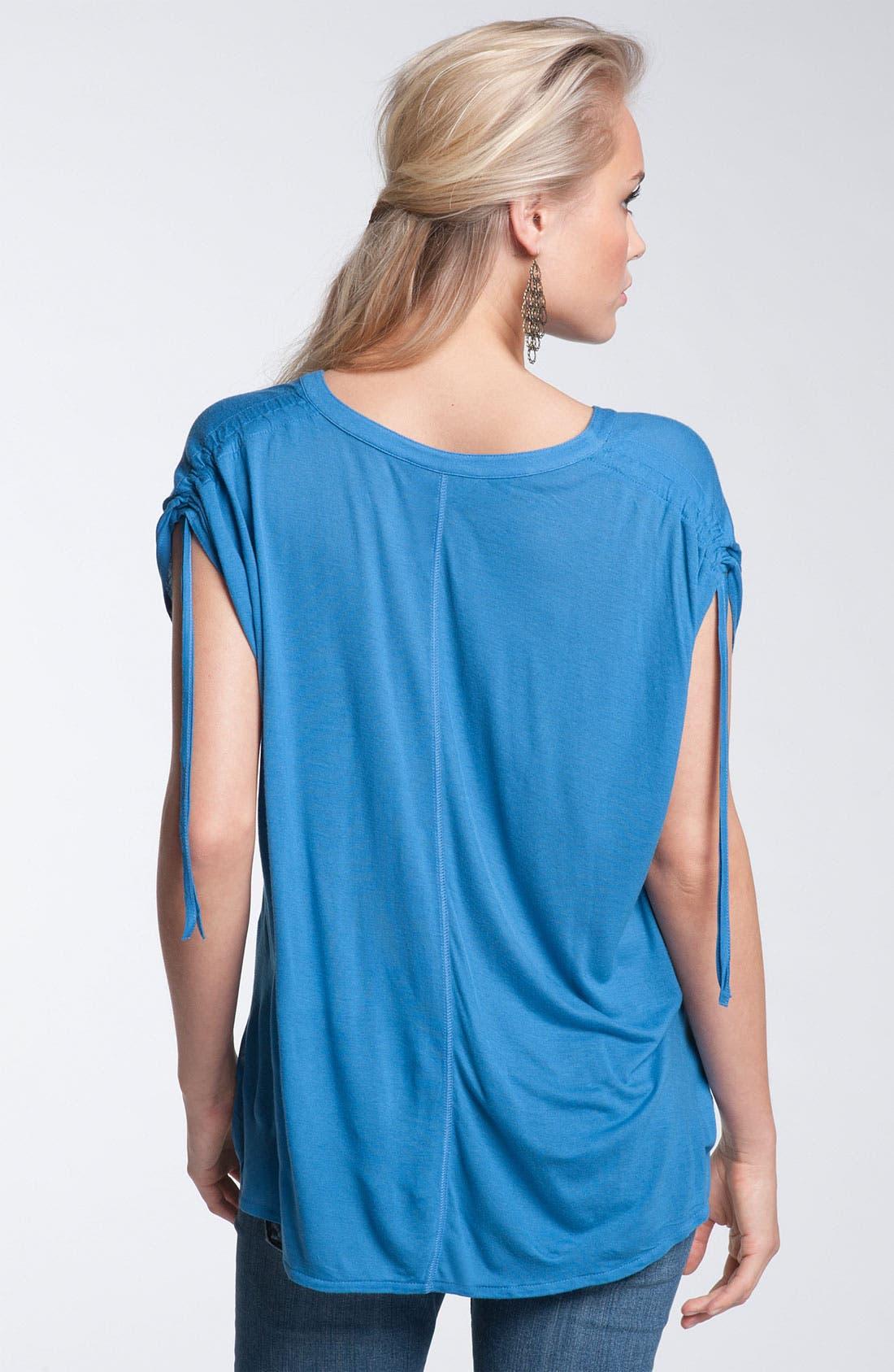 Alternate Image 2  - Rubbish® Tie Shoulder Top (Juniors)