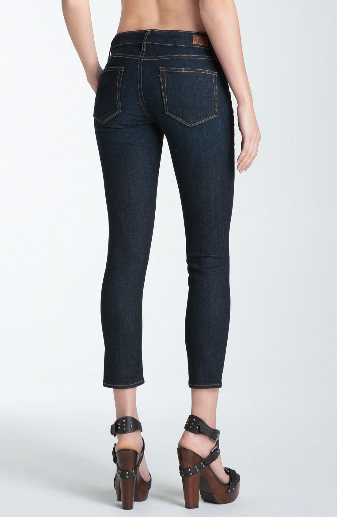 Alternate Image 2  - Paige Denim 'Kylie' Crop Skinny Jeans (Stream)