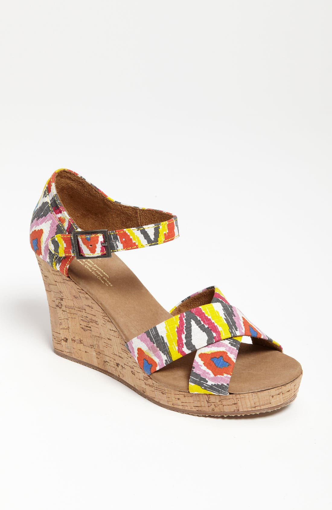 Alternate Image 1 Selected - TOMS 'Cenna' Sandal