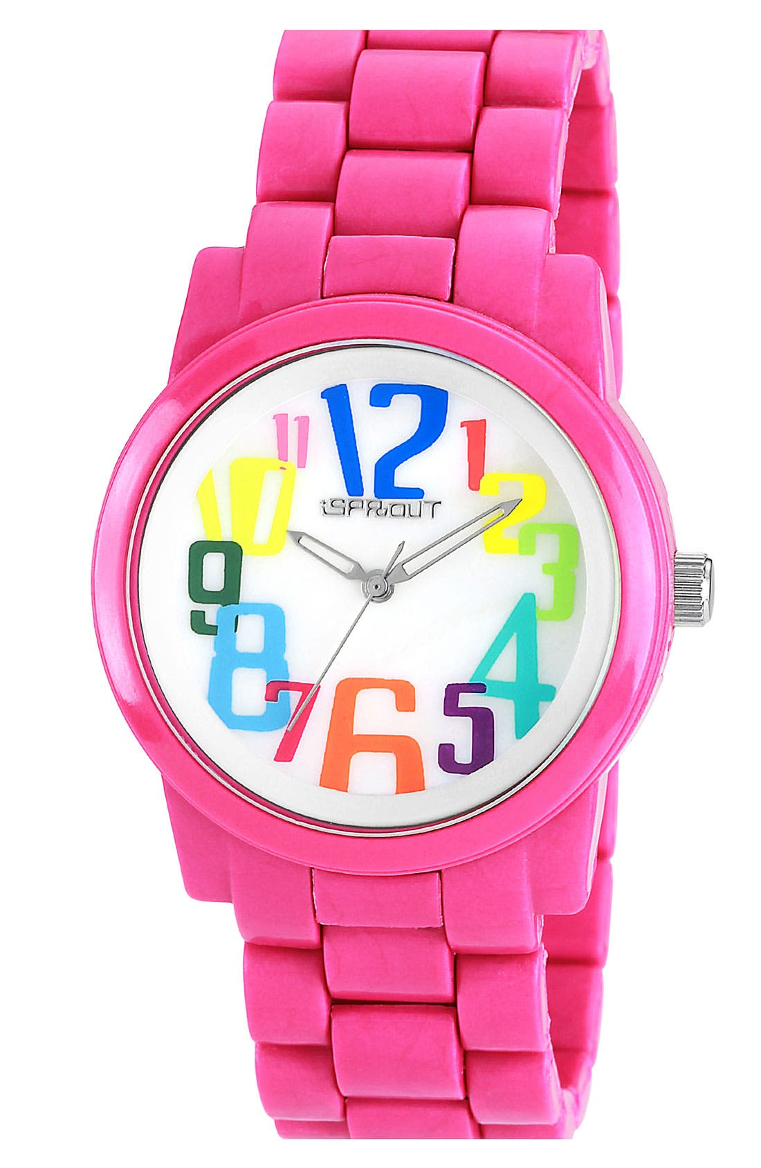 Alternate Image 1 Selected - SPROUT™ Watches Multicolor Dial Bracelet Watch, 38mm
