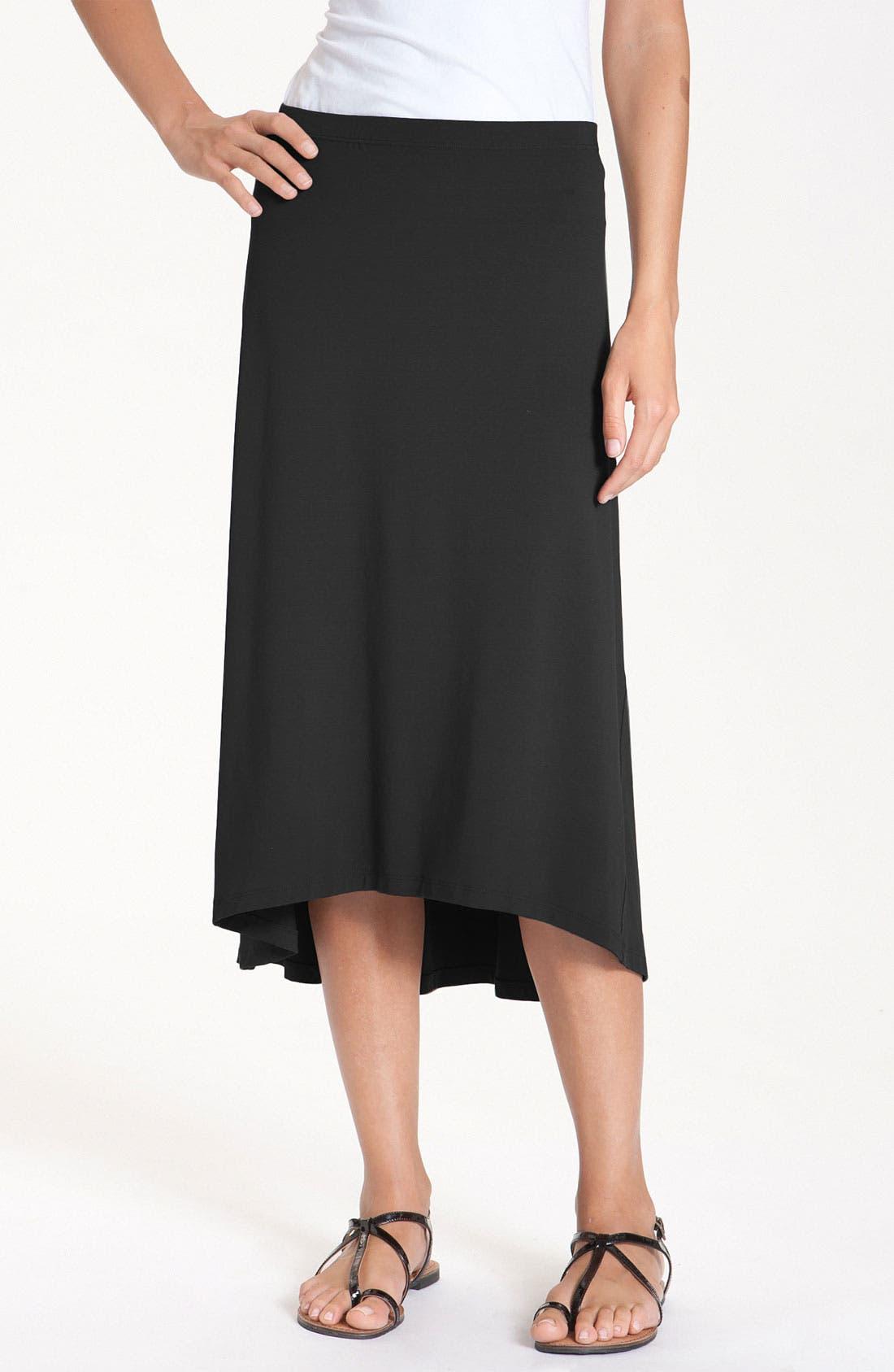 Main Image - Eileen Fisher Jersey Midi Skirt