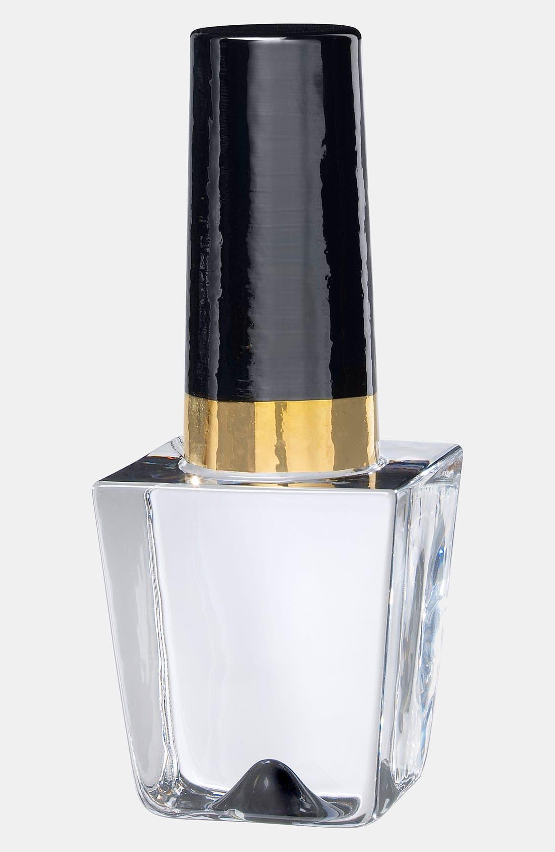 Main Image - Kosta Boda 'Makeup Nail Polish Bottle' Sculpture