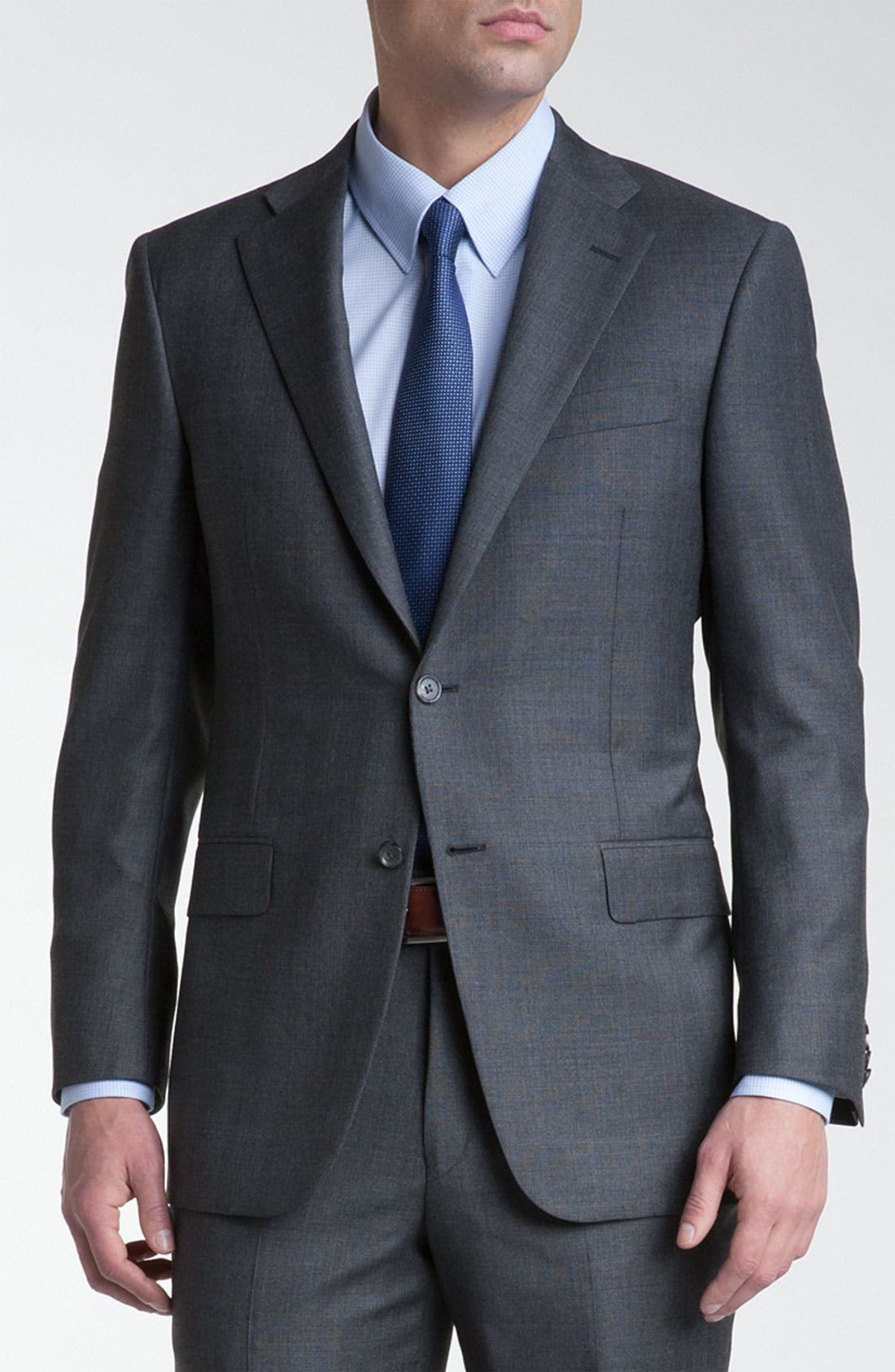 Alternate Image 3  - Hickey Freeman 'GlenPlaid' Wool Suit