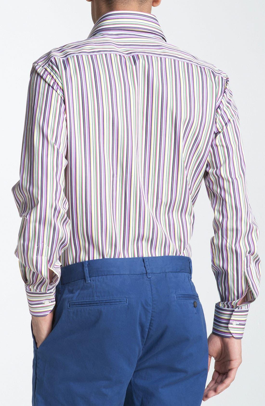 Alternate Image 2  - Etro Stripe Woven Dress Shirt