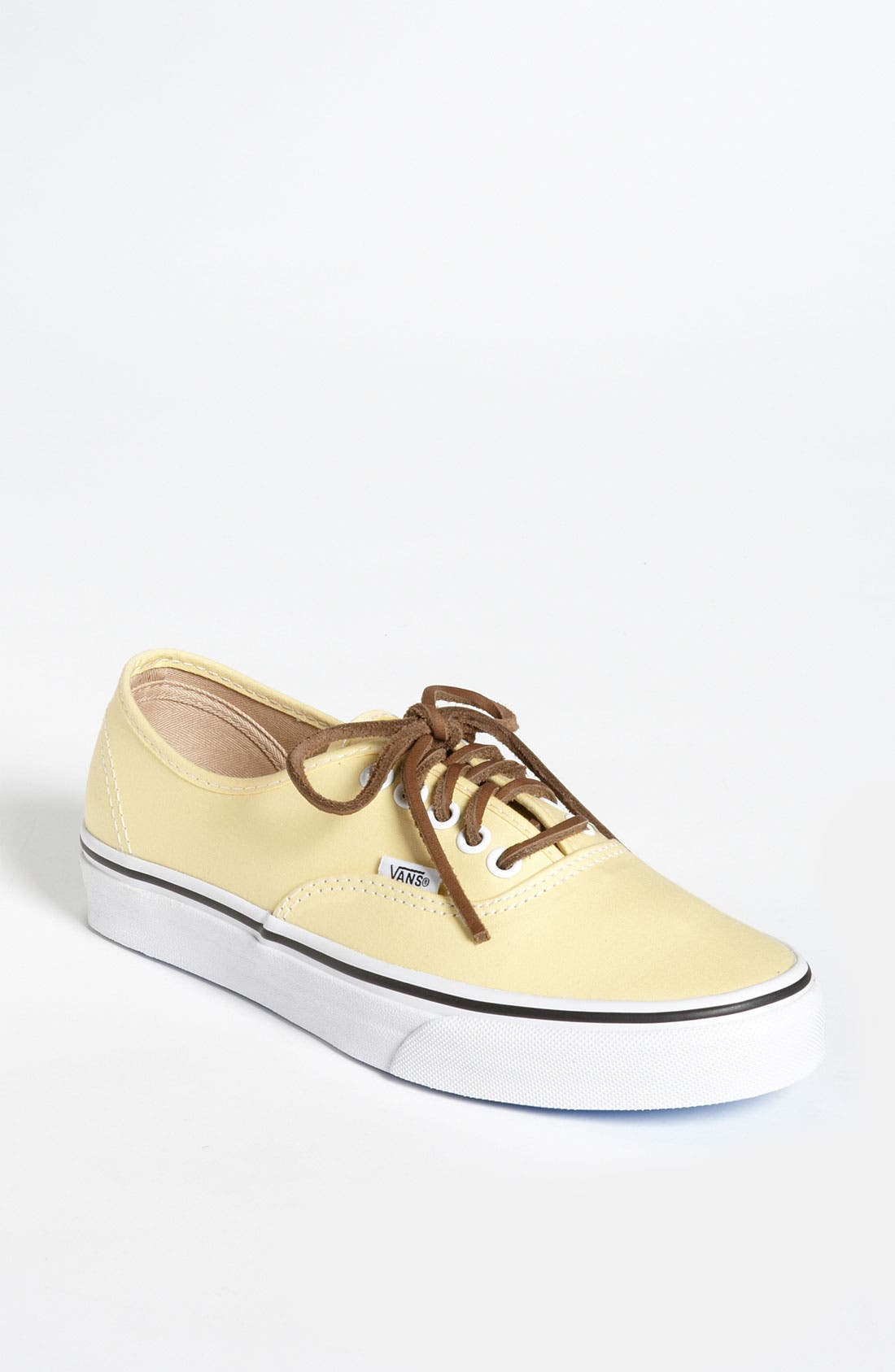 Alternate Image 1 Selected - Vans 'Authentic' Twill Sneaker (Women)