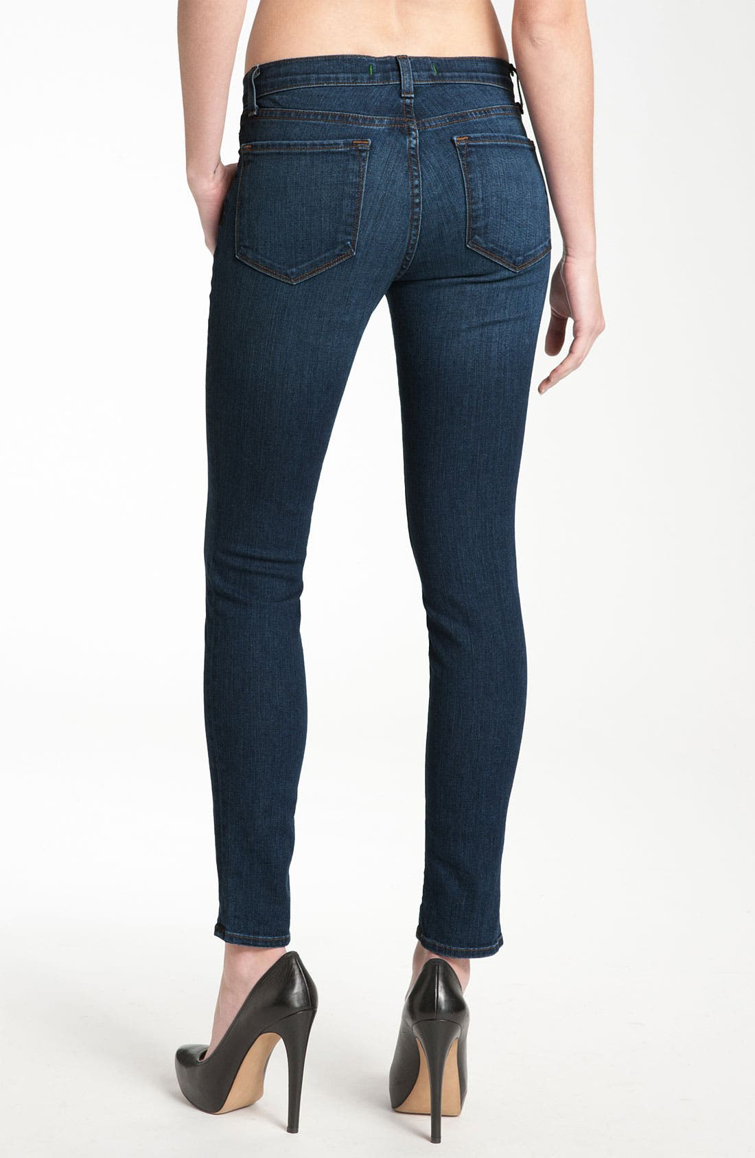 Alternate Image 2  - J Brand '811' Skinny Stretch Jeans (Vivid)