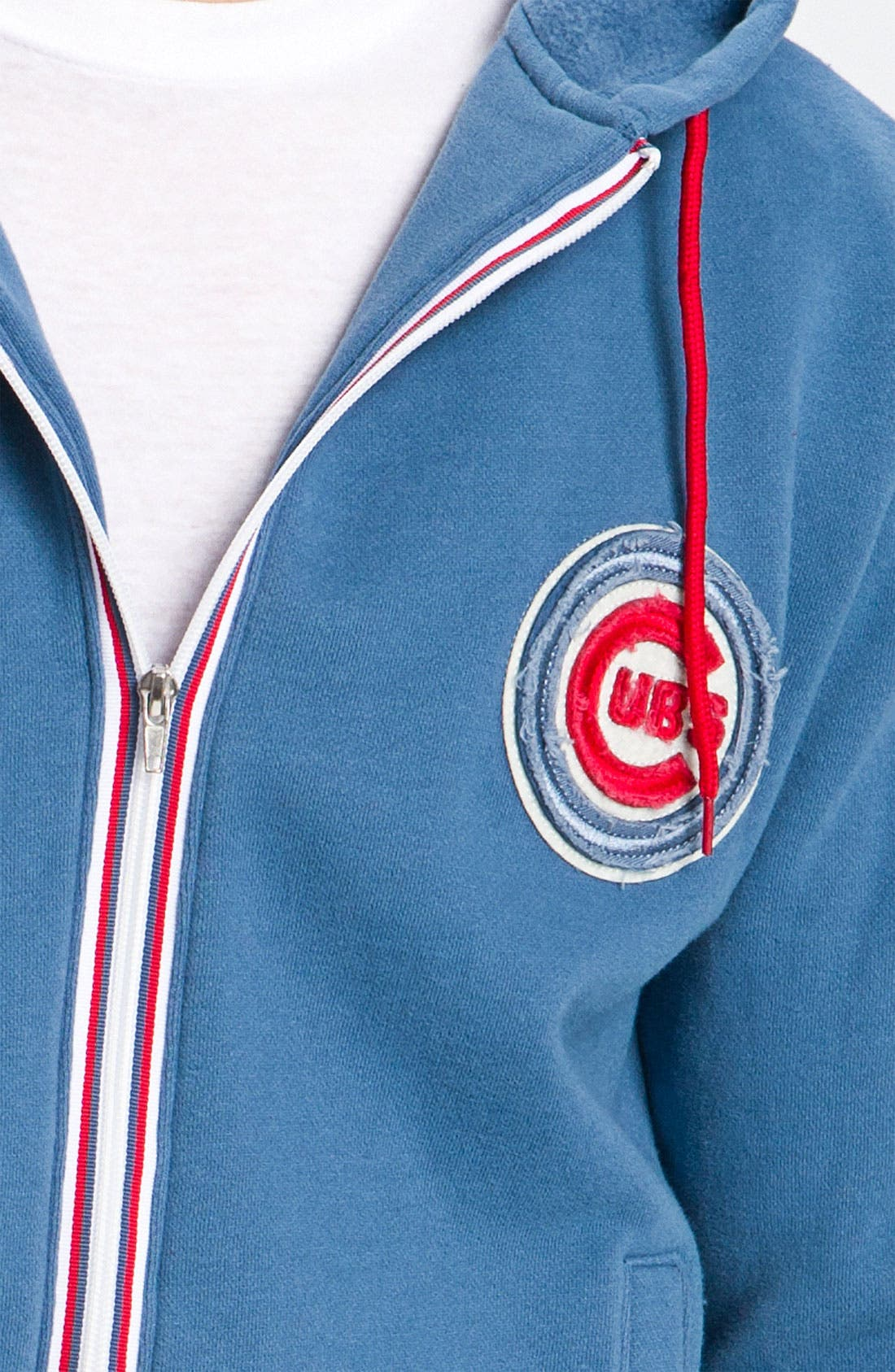 Alternate Image 3  - Wright & Ditson 'Chicago Cubs' Hoodie