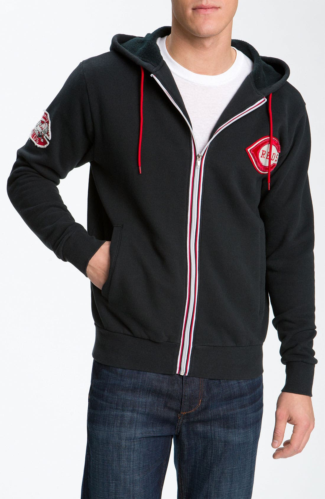 Alternate Image 1 Selected - Wright & Ditson 'Cincinnati Reds' Hoodie