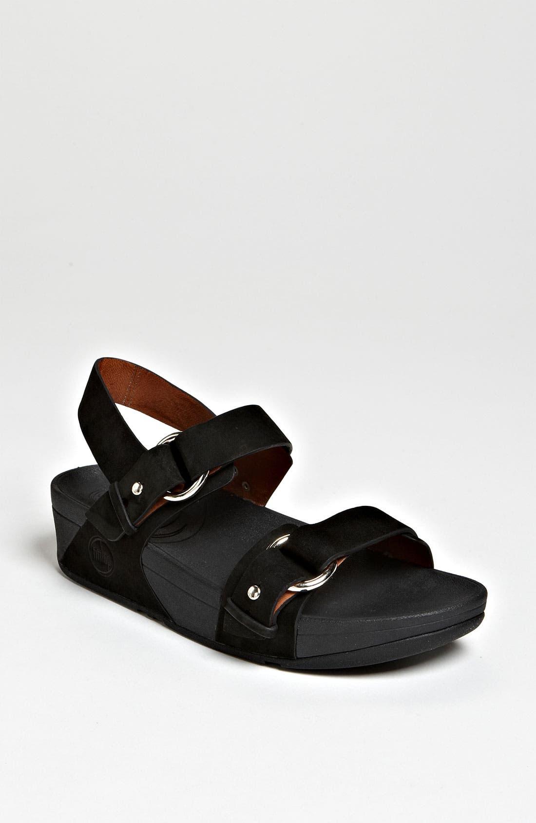 Alternate Image 1 Selected - FitFlop 'Via™ Bar' Sandal