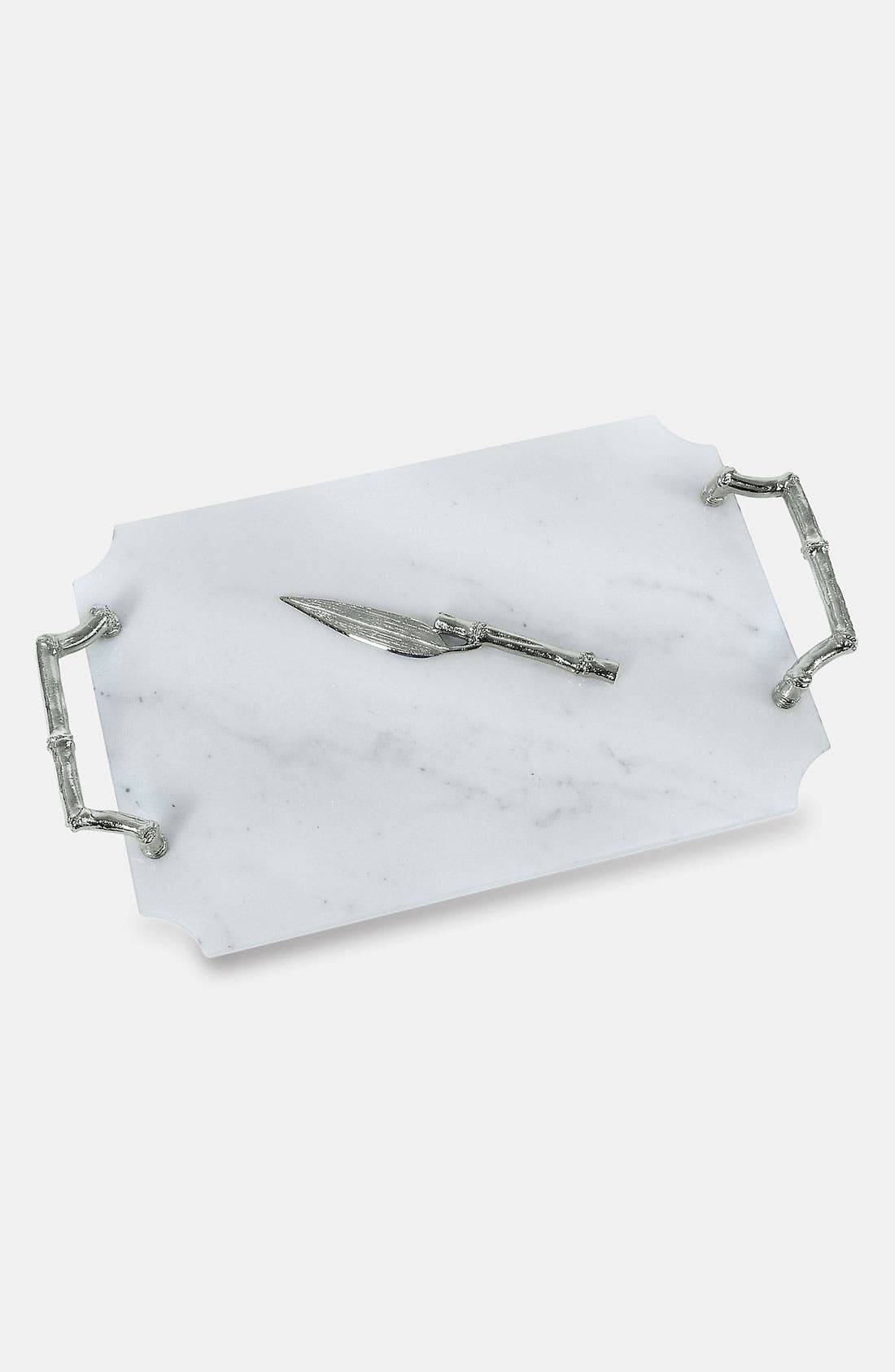 Alternate Image 1 Selected - Michael Aram 'Bamboo' Cheese Board & Knife